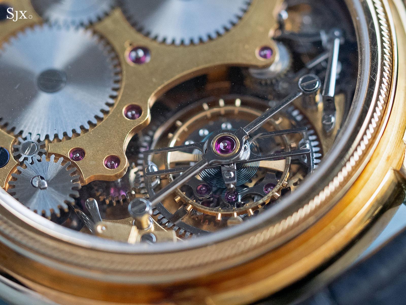 George Daniels Chronograph Wristwatch with tourbillon 23