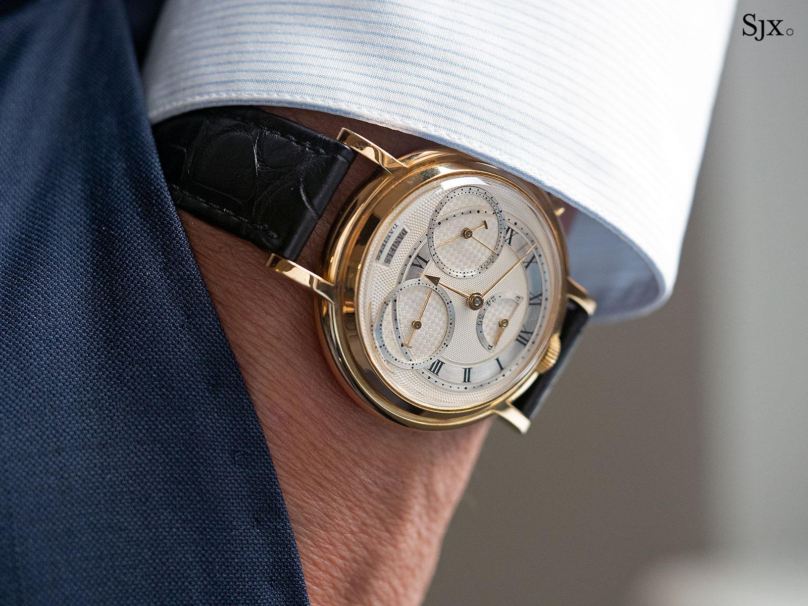 George Daniels Chronograph Wristwatch with tourbillon 24