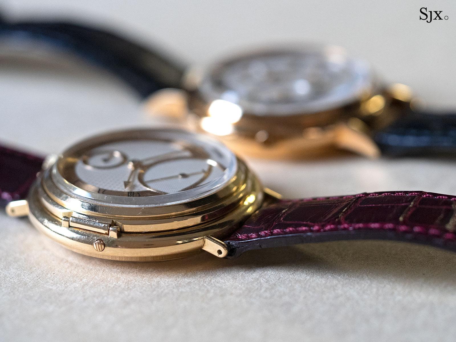 George Daniels Chronograph Wristwatch with tourbillon 25