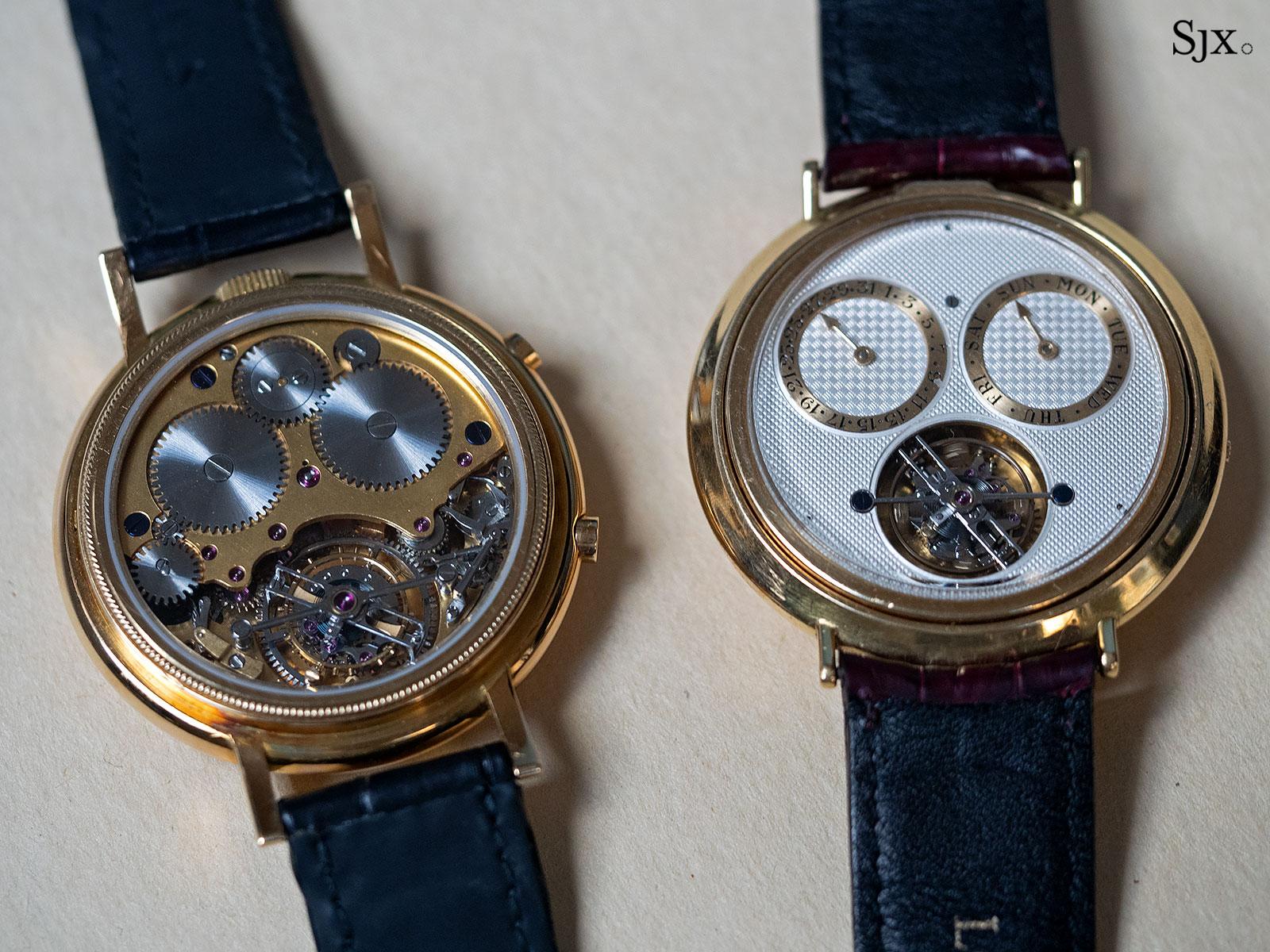 George Daniels Chronograph Wristwatch with tourbillon 27