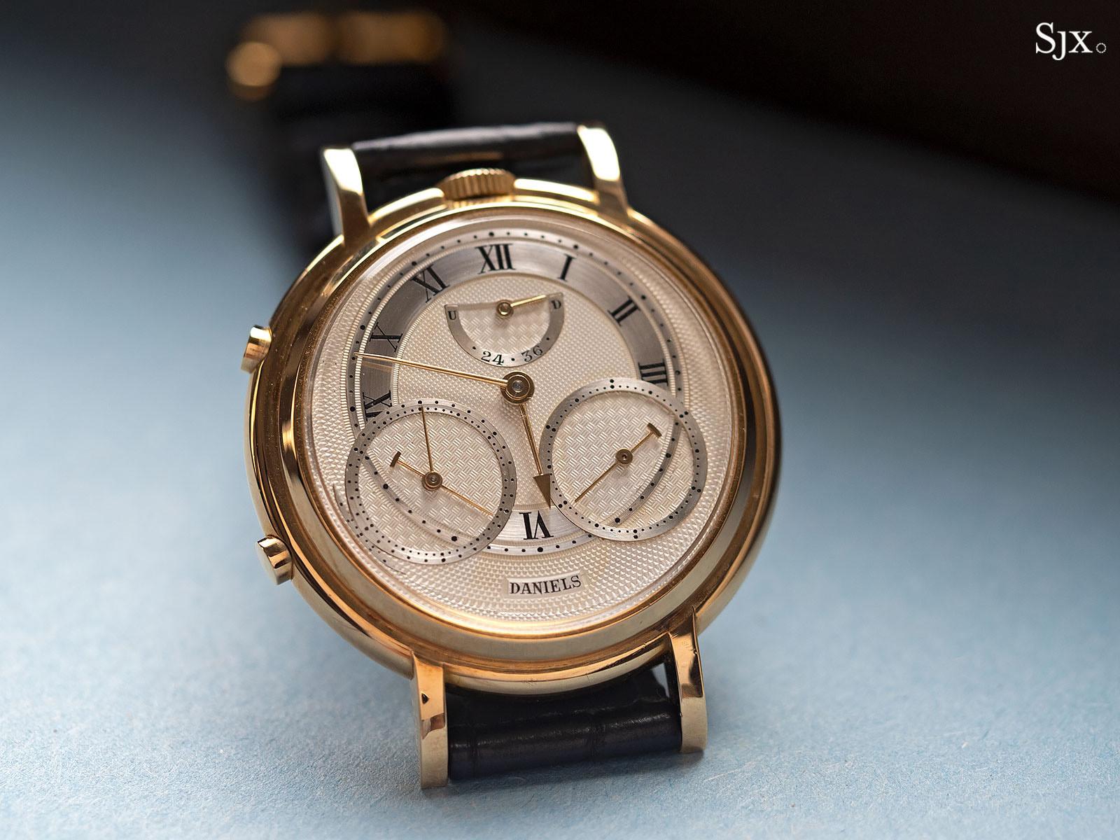 George Daniels Chronograph Wristwatch with tourbillon 6