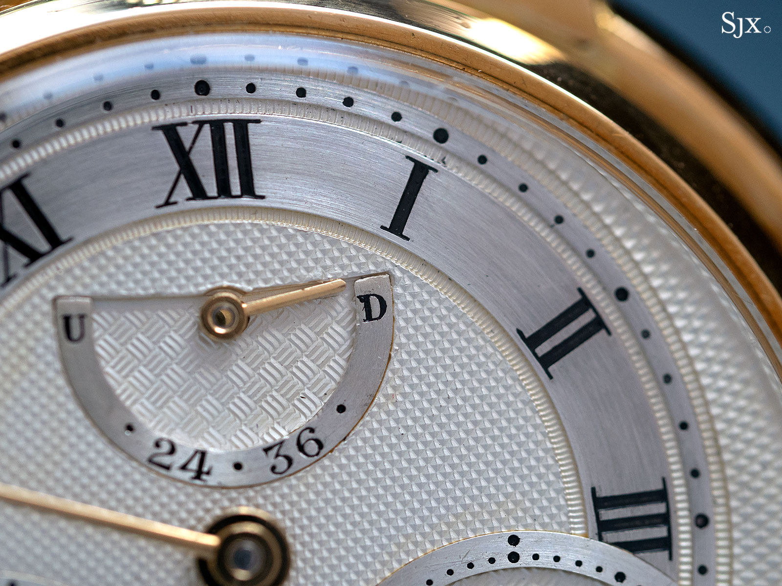 George Daniels Chronograph Wristwatch with tourbillon 7