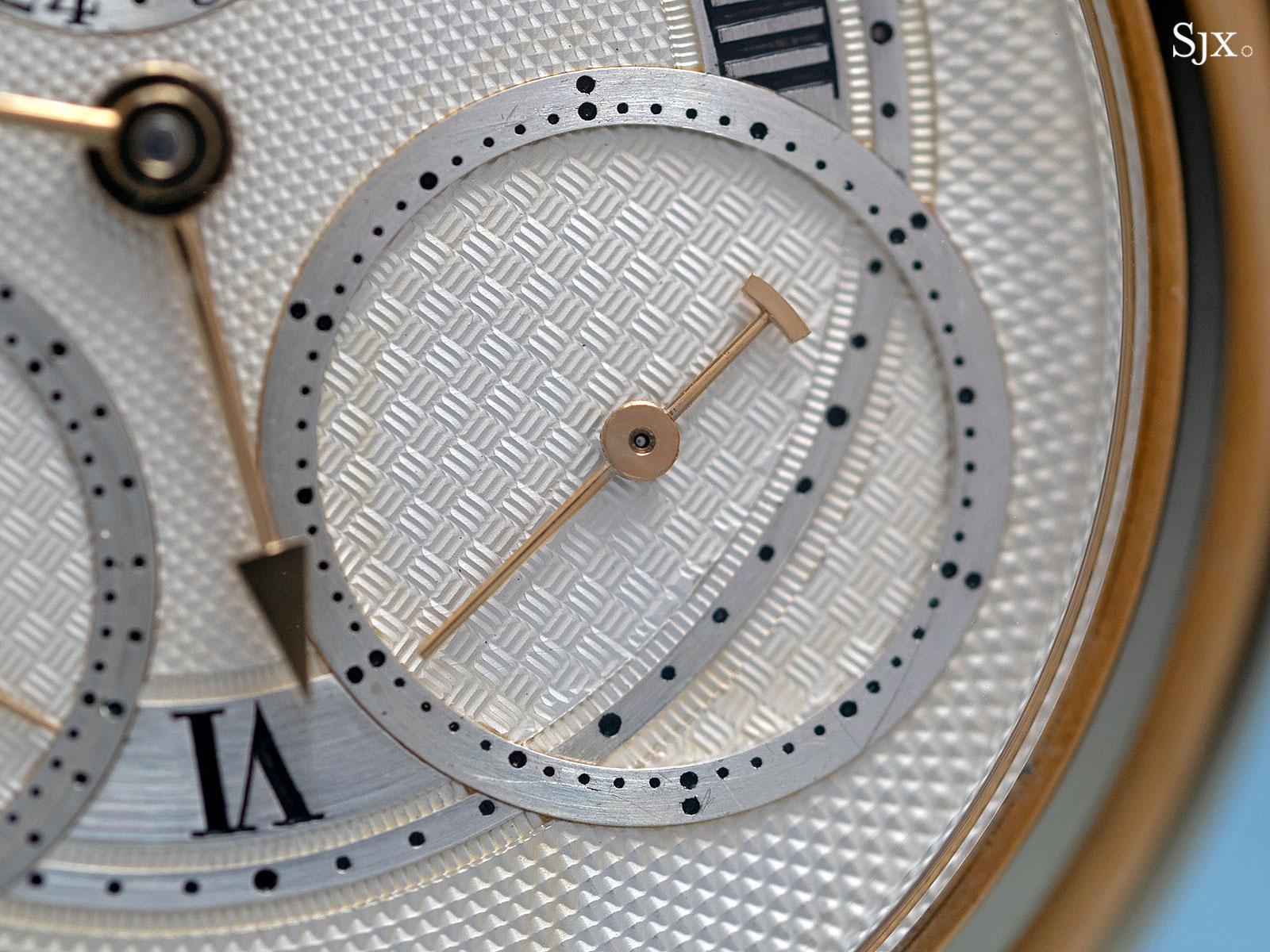 George Daniels Chronograph Wristwatch with tourbillon 8