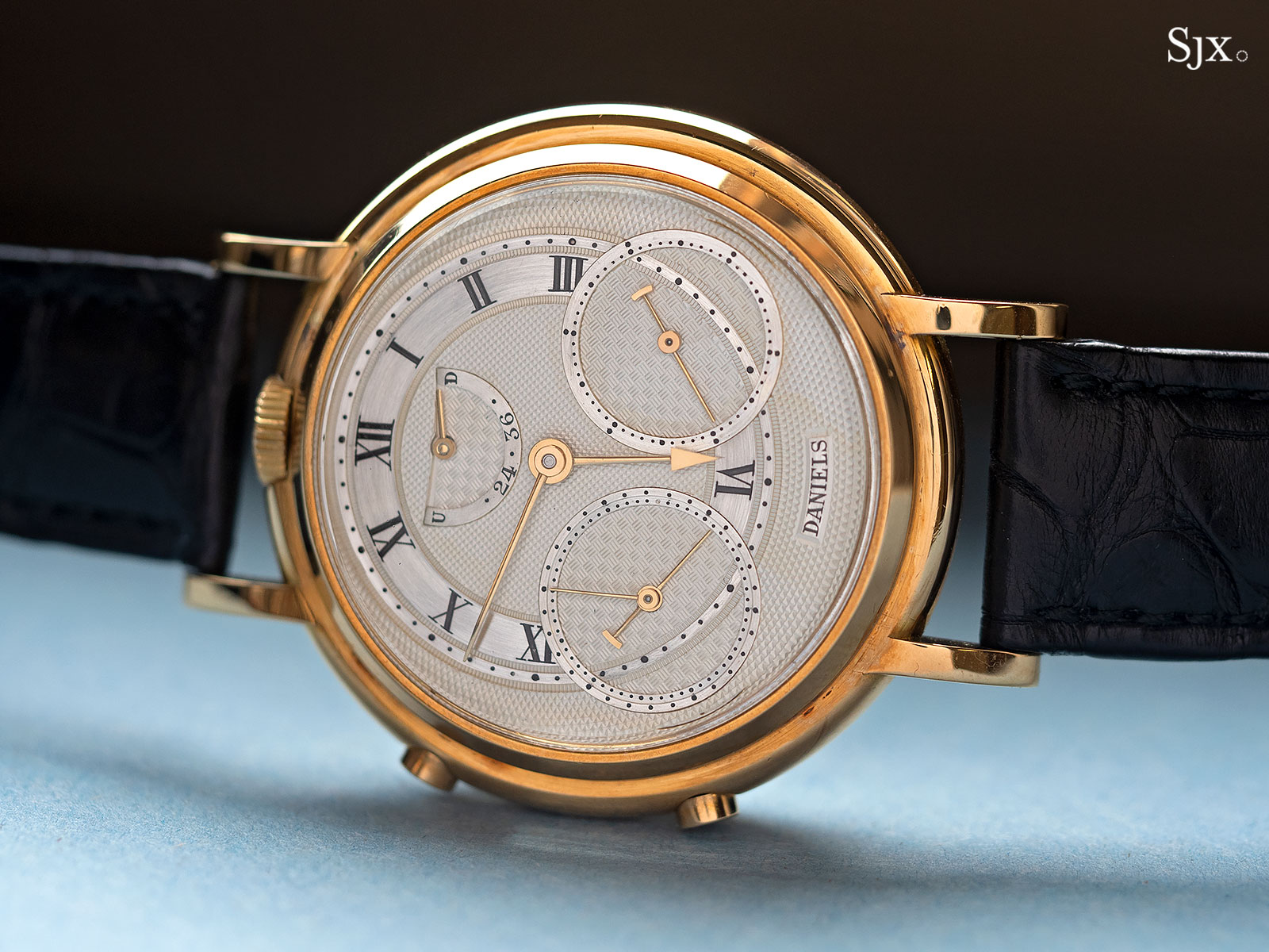 George Daniels Chronograph Wristwatch with tourbillon 9