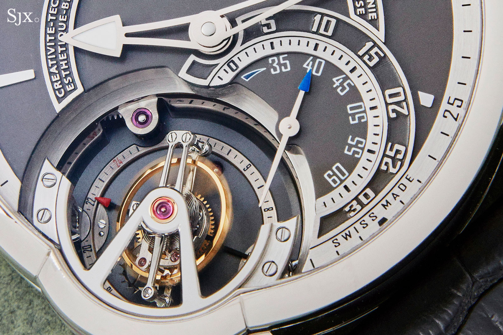 Greubel Forsey Tourbillon 24 Secondes platinum 1