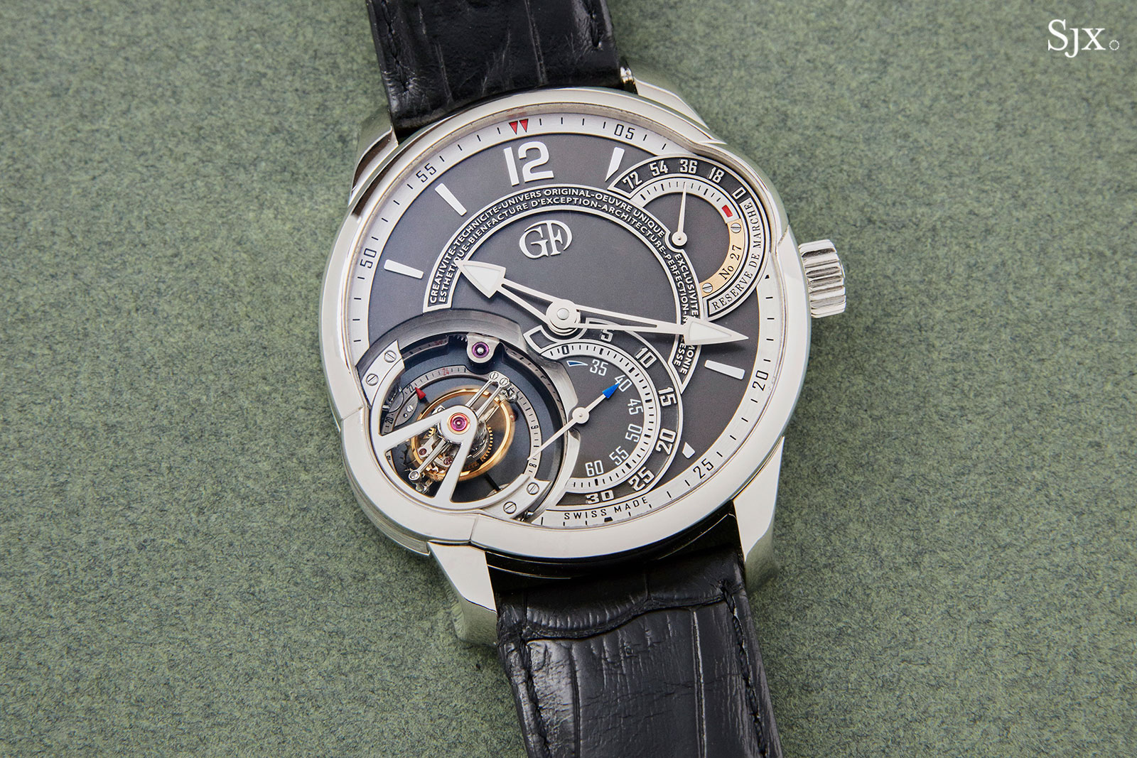 Greubel Forsey Tourbillon 24 Secondes platinum 2