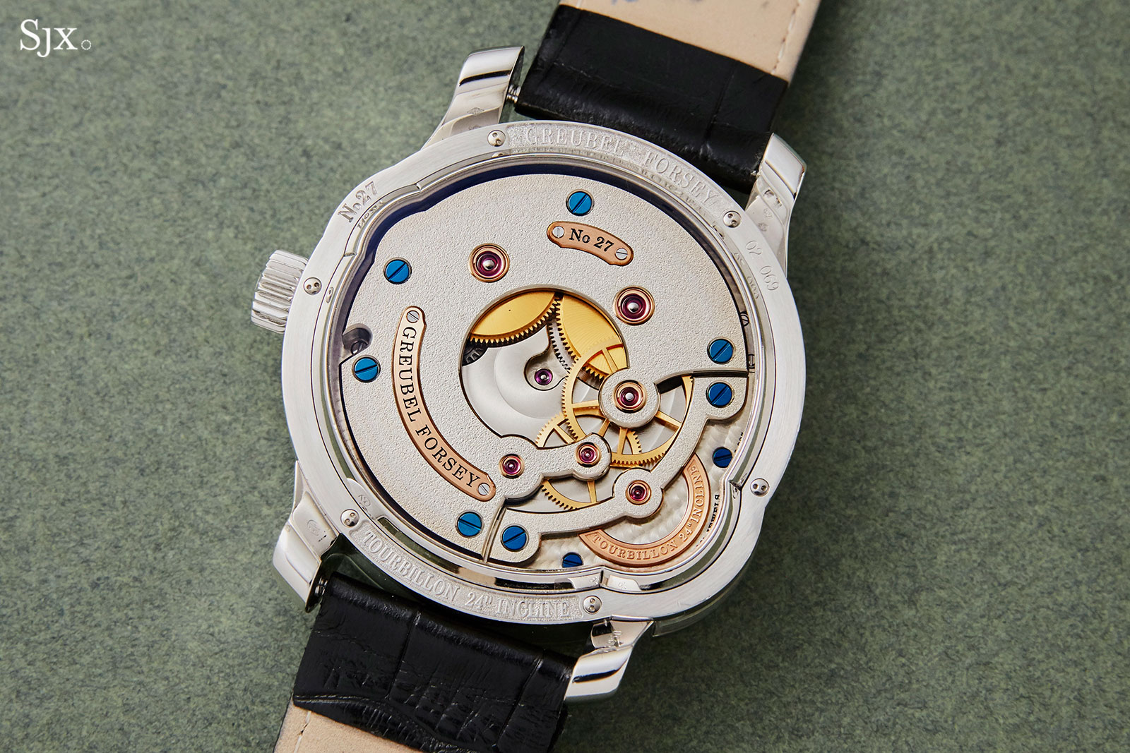 Greubel Forsey Tourbillon 24 Secondes platinum 4