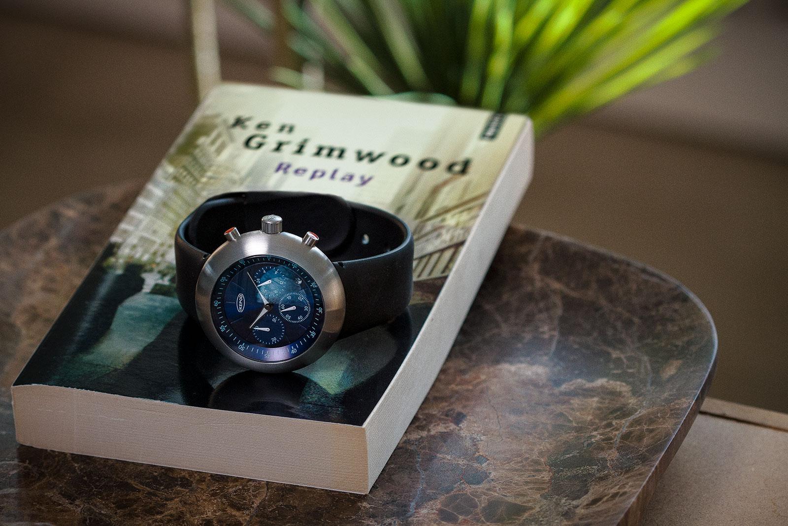 Ikepod Chronopod blue