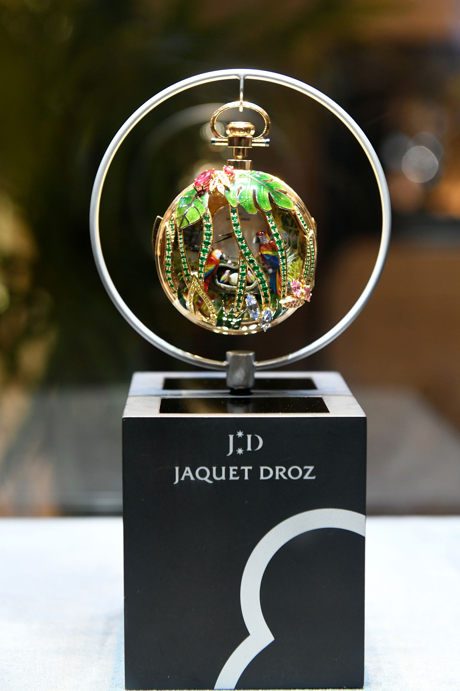 Jaquet Droz Parrot Repeater Watch Singapore 1