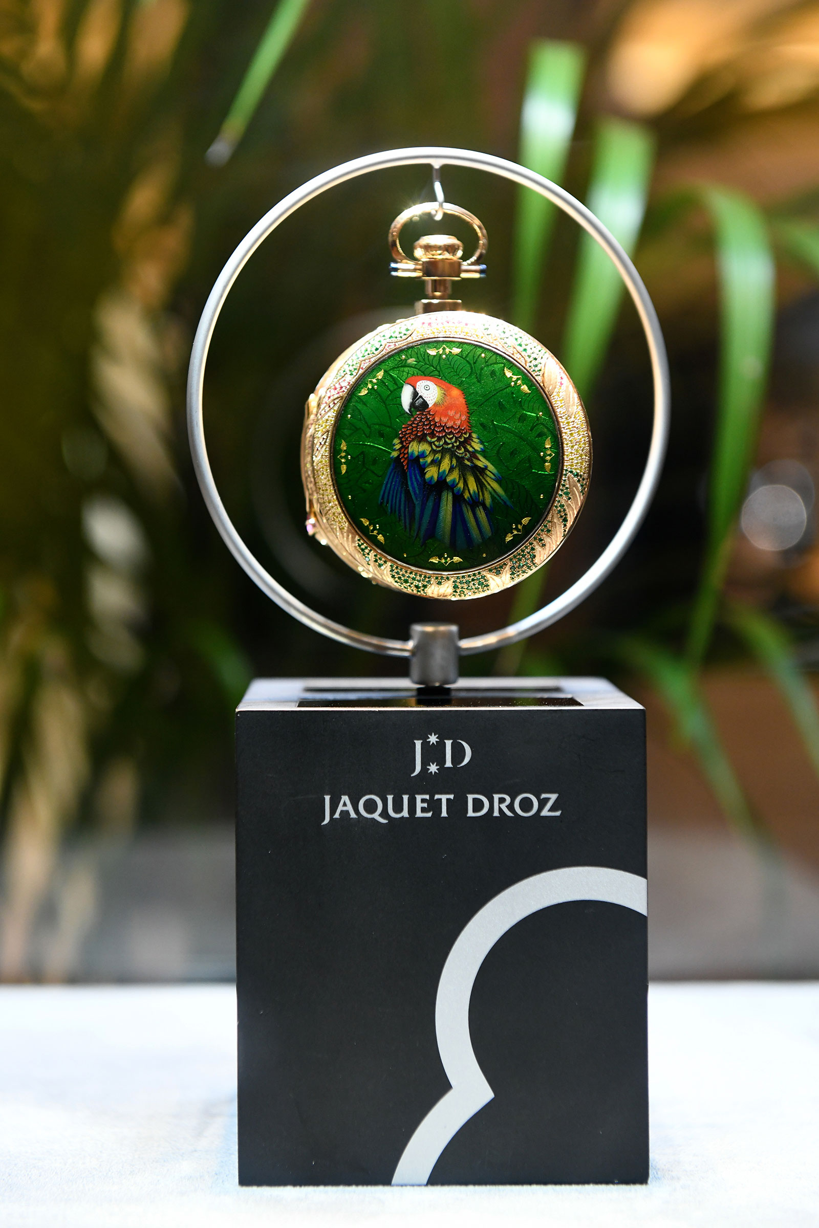Jaquet Droz Parrot Repeater Watch Singapore 2
