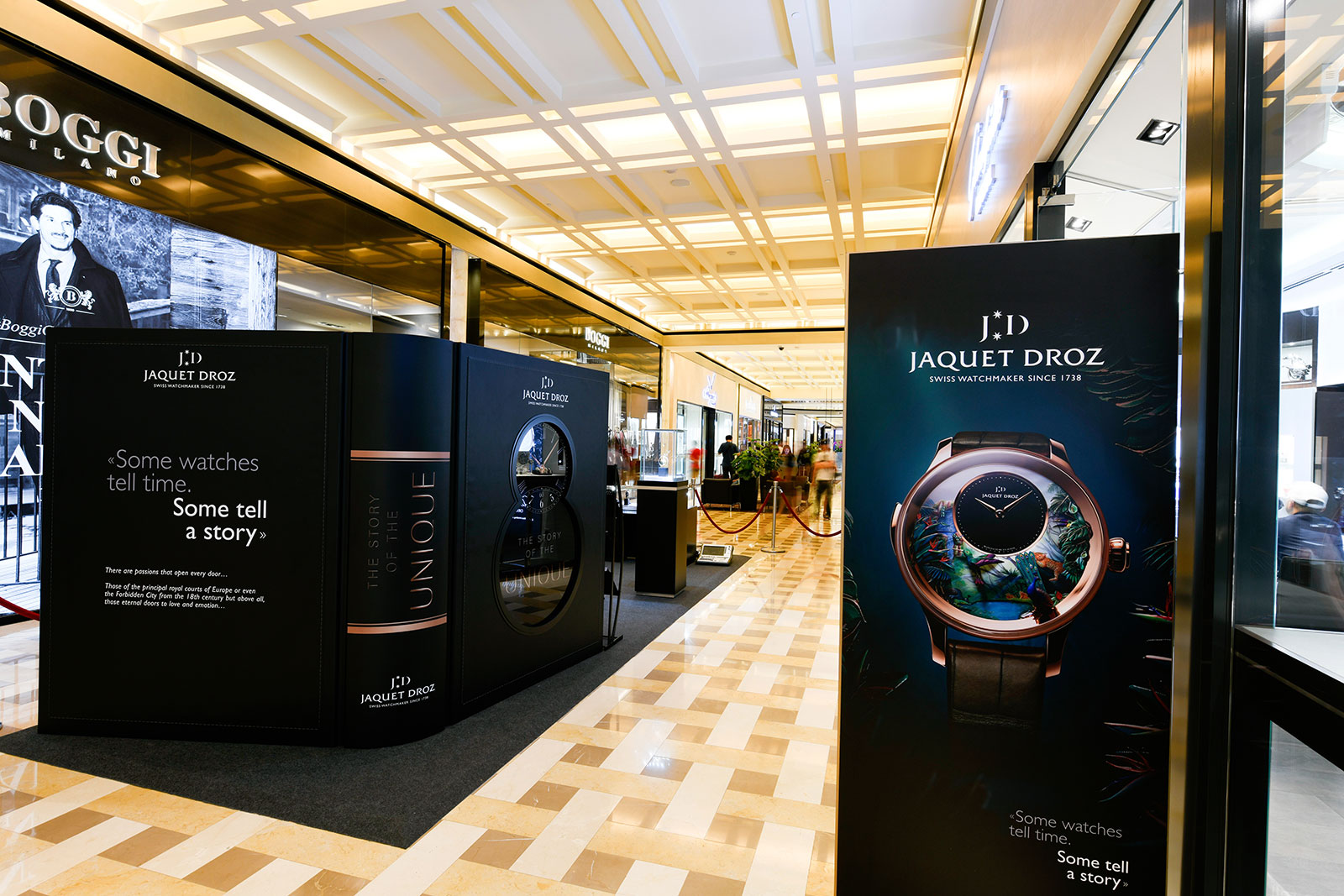 Jaquet Droz Story of the Unique Exhibition Singapore 1