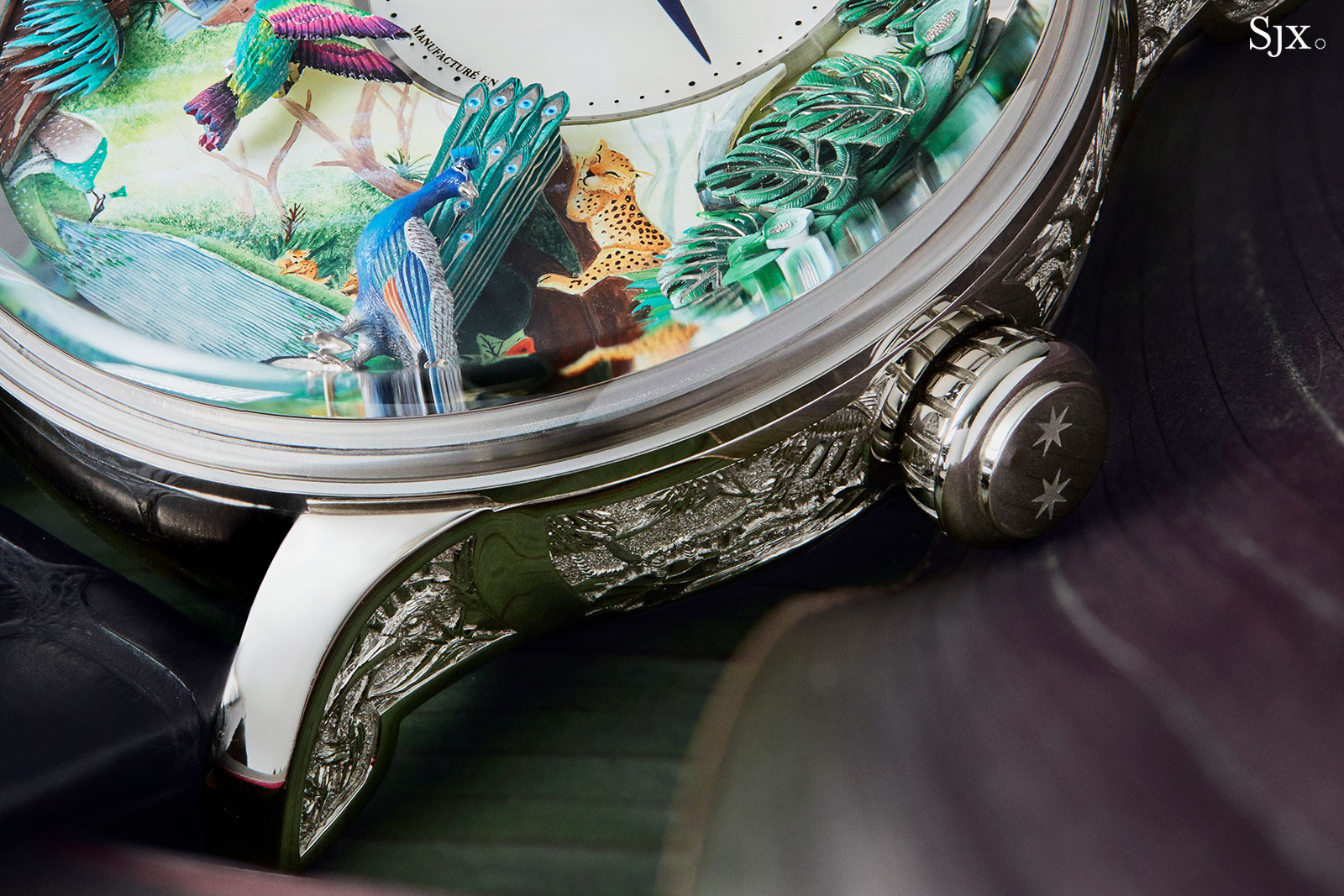 Jaquet Droz Tropical Bird Repeater automata 3