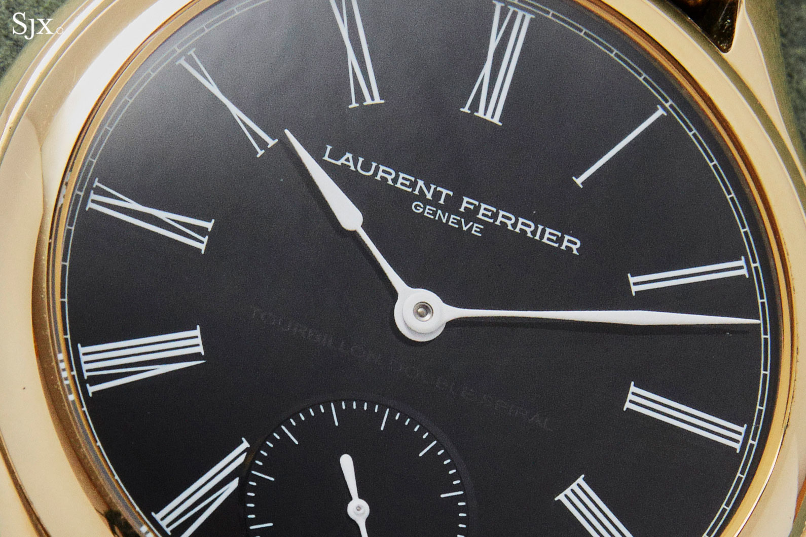 Laurent Ferrier Galet Tourbillon Onyx dial 1