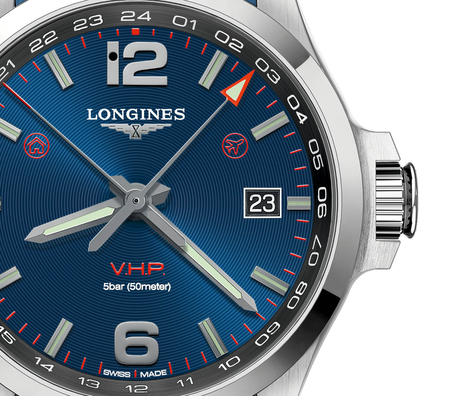 Longines Conquest V.H.P. GMT Flash Setting 2