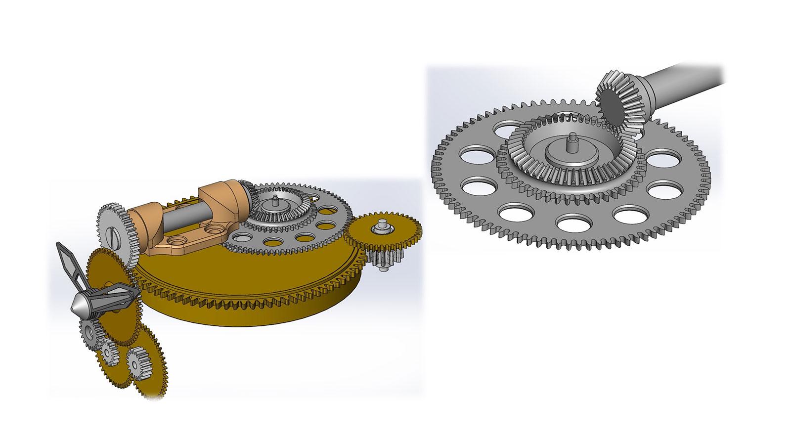 MB F HM9 bevel gears 1