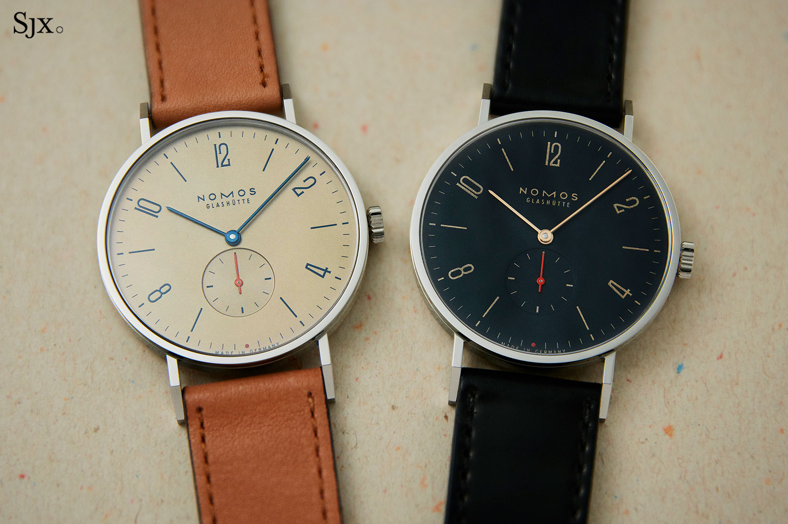 Nomos Tangente Red Dot Singapore Edition