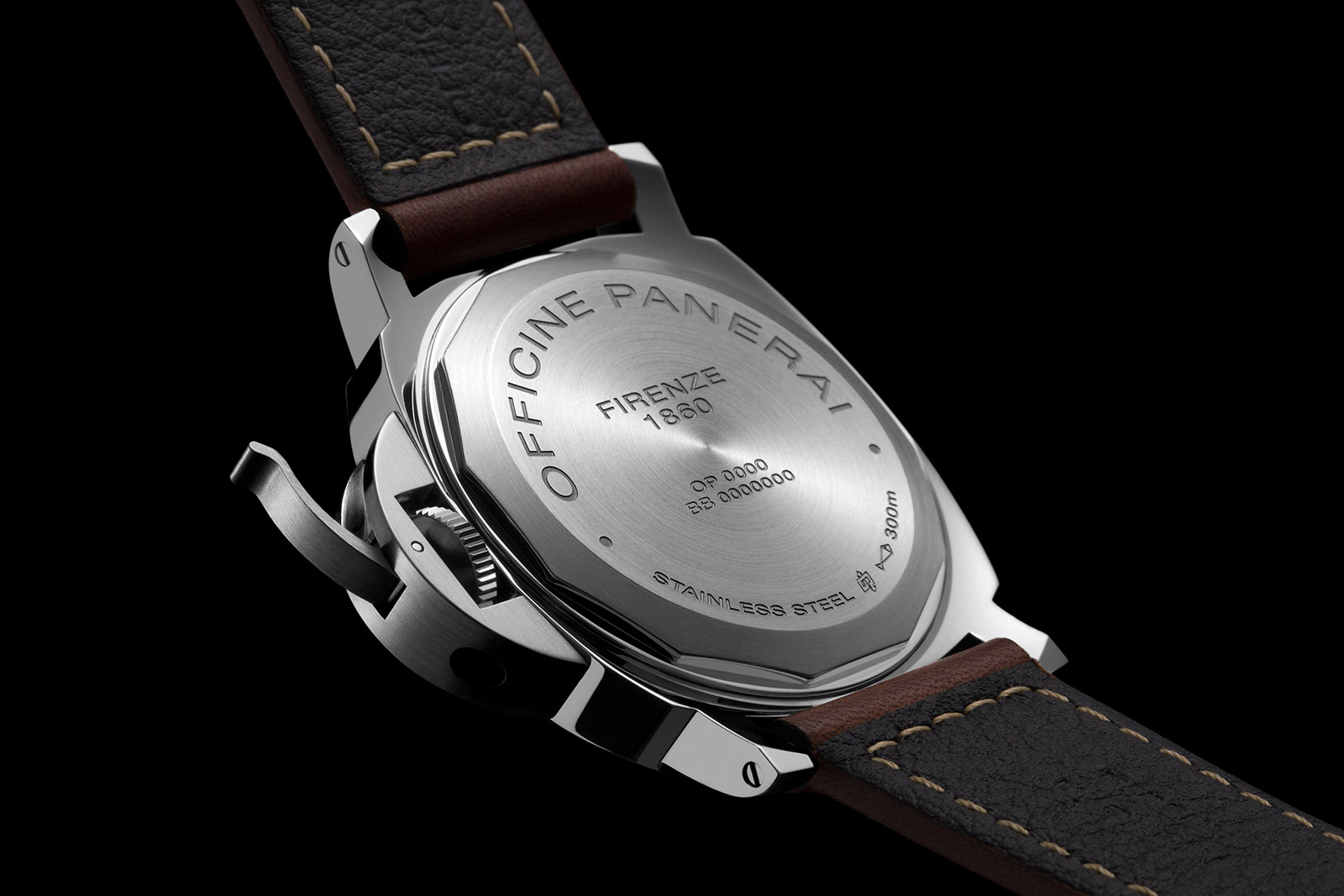 Panerai Luminor 8 Days Power Reserve PAM795 back