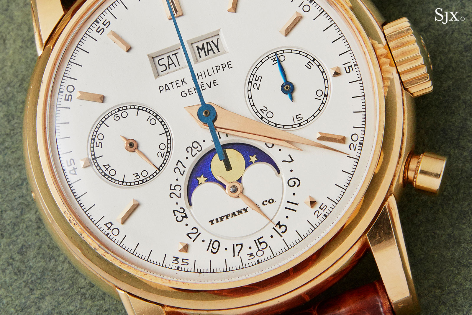 Patek Philippe 2499 pink gold Tiffany 2