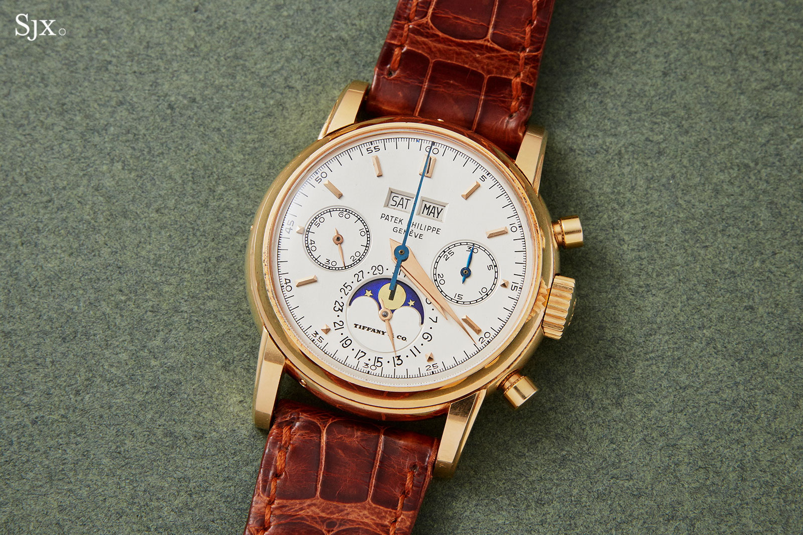 Patek Philippe 2499 pink gold Tiffany 3