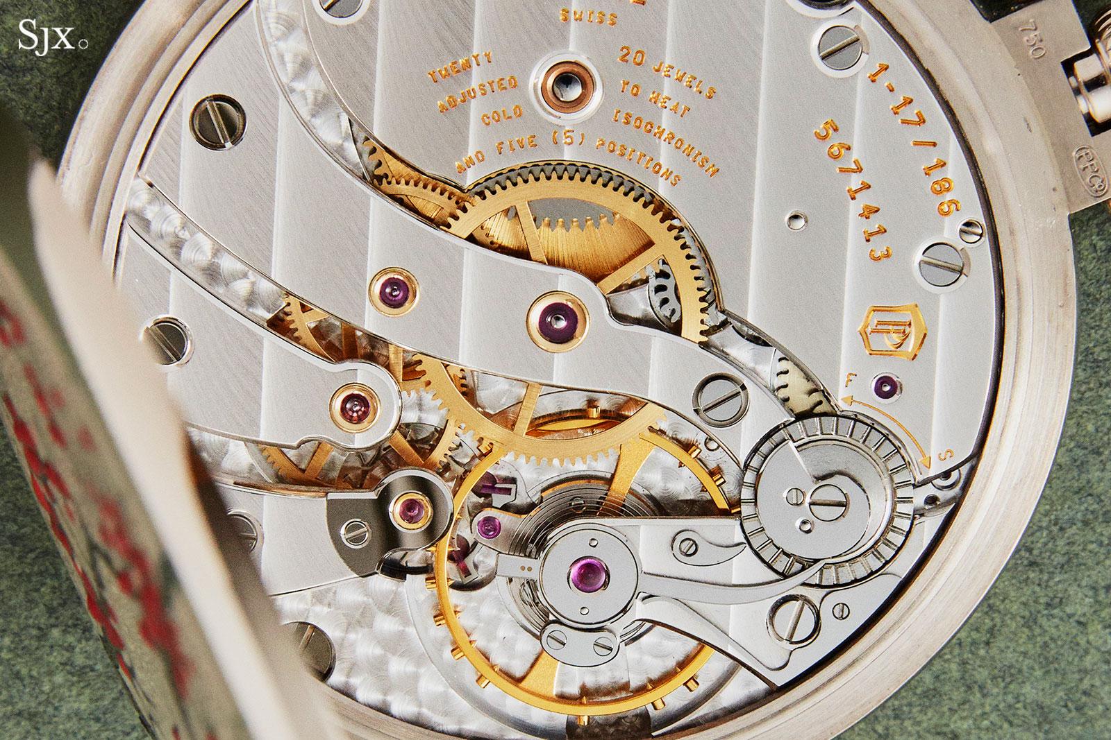Patek Philippe 982-159G Rare Handcrafts pocket watch 5