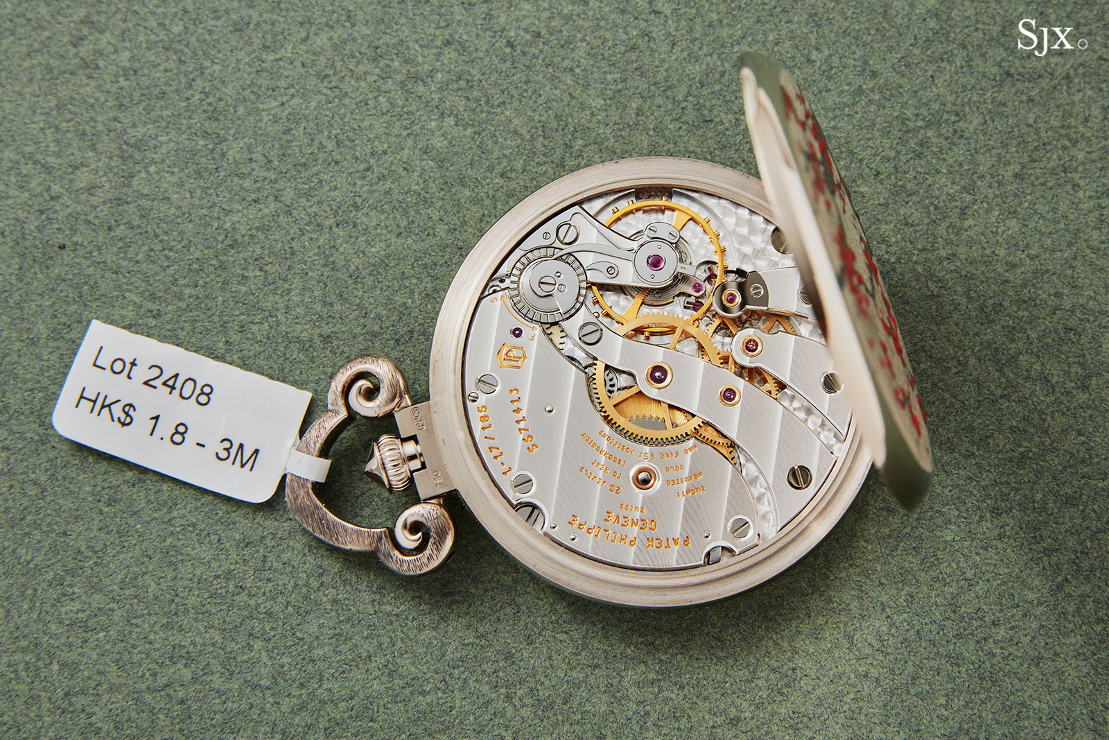 Patek Philippe 982-159G Rare Handcrafts pocket watch 7