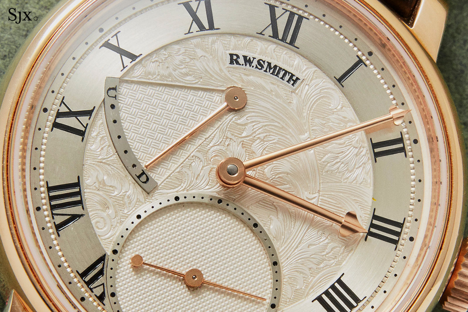 Roger Smith Series 2 pink gold 38mm 1
