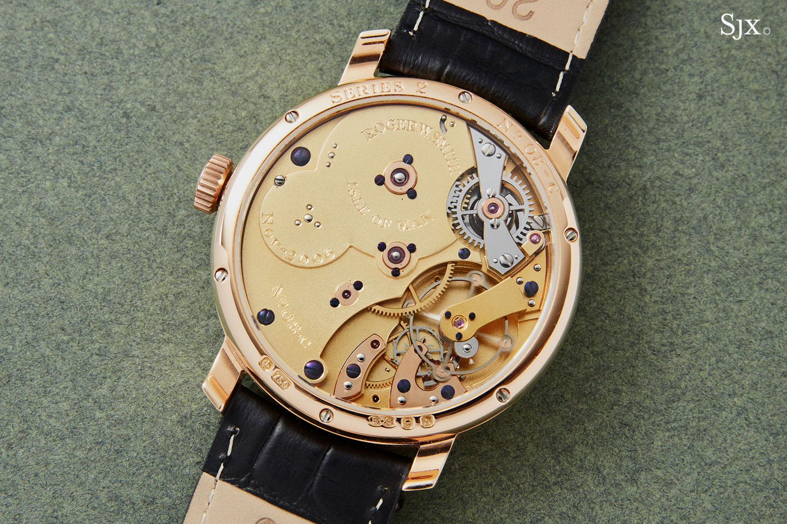 Roger Smith Series 2 pink gold 38mm 4