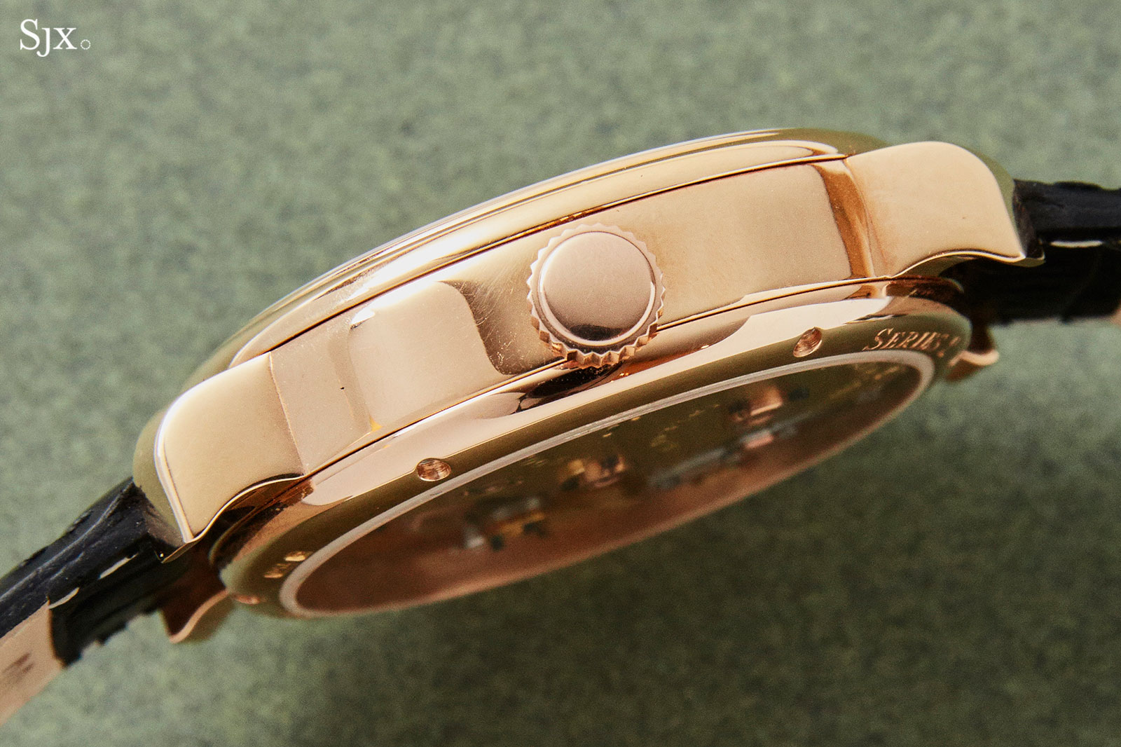 Roger Smith Series 2 pink gold 38mm 5
