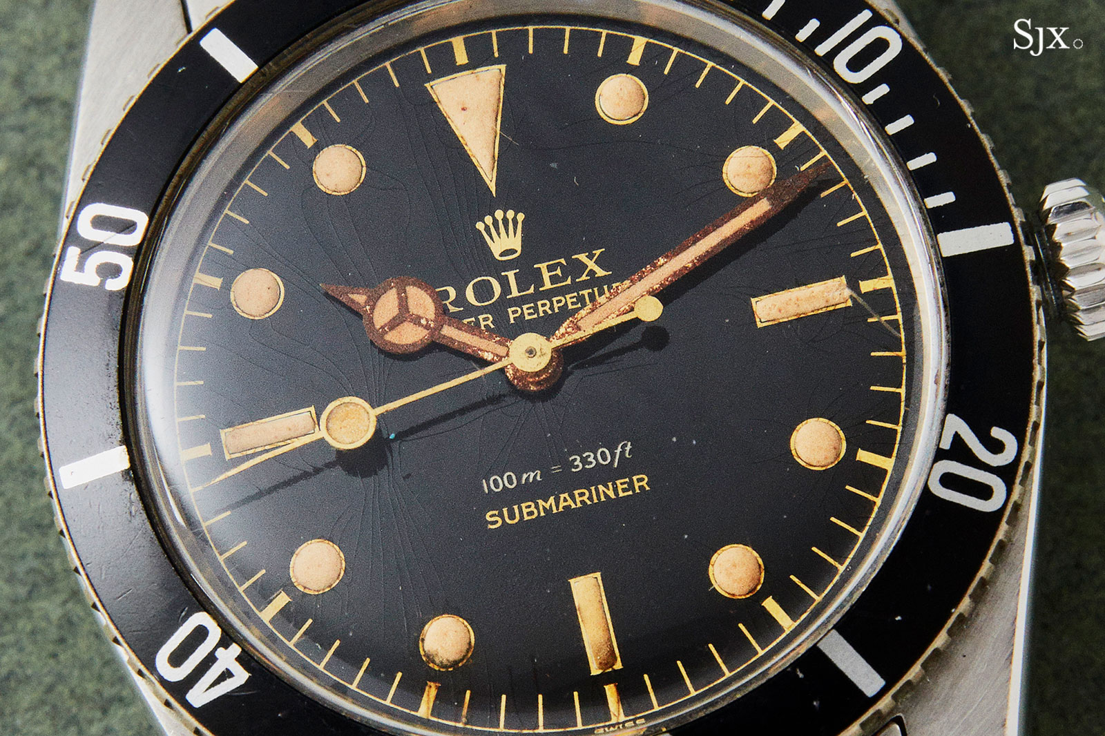 Rolex Submariner 6536 small crown james bond 1