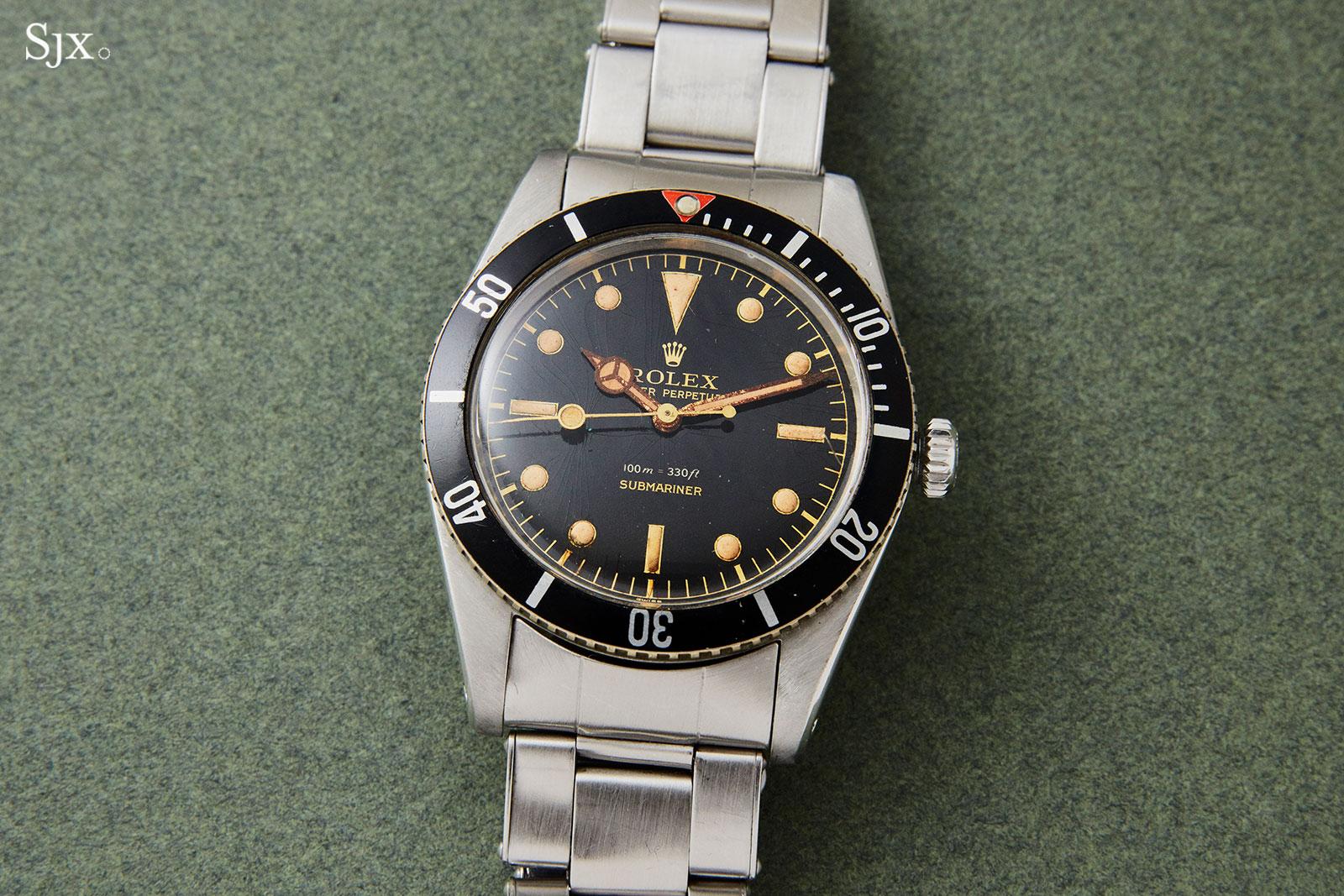Rolex Submariner 6536 small crown james bond 2