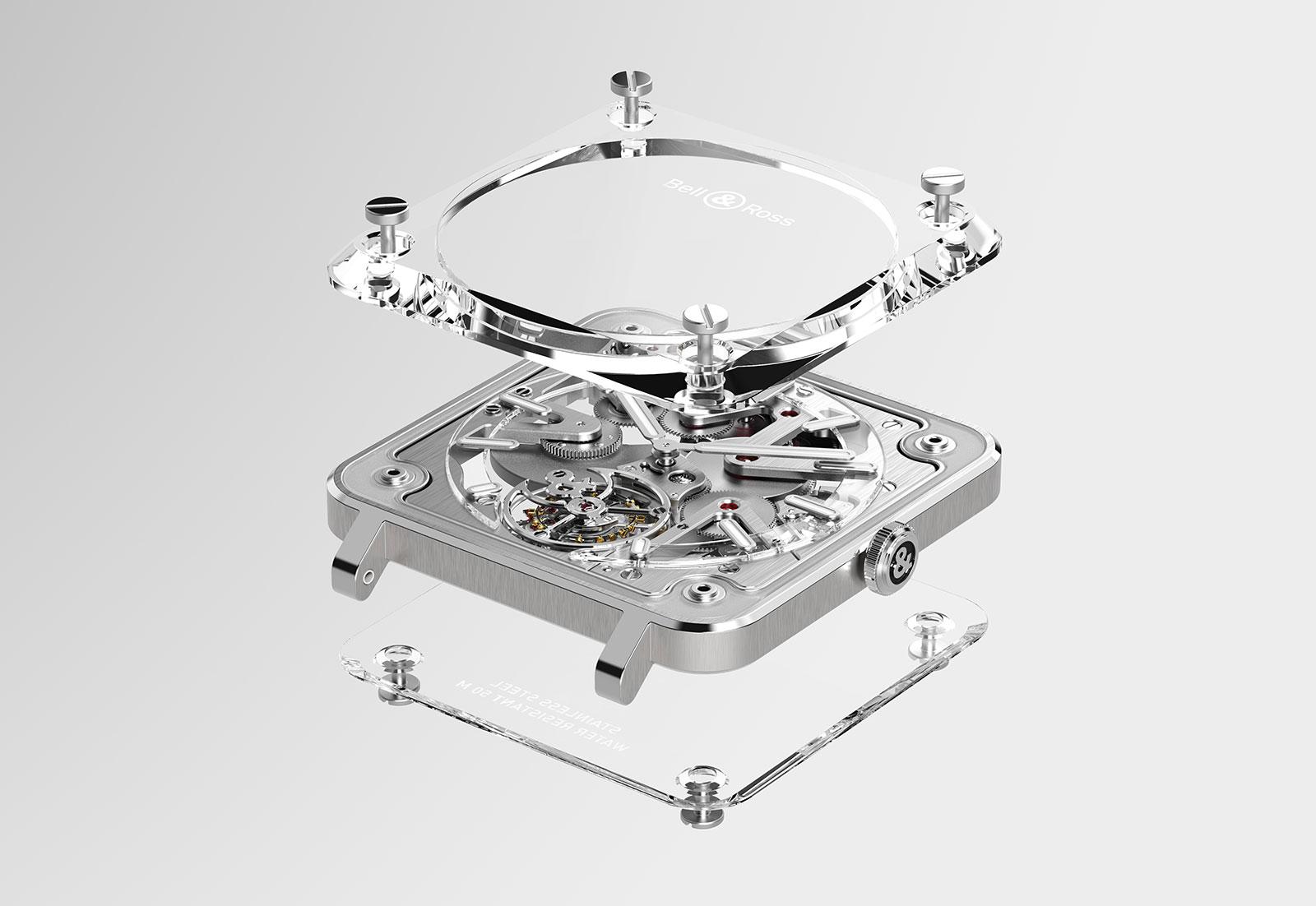 Bell Ross BR-X2 Skeleton Tourbillon sapphire