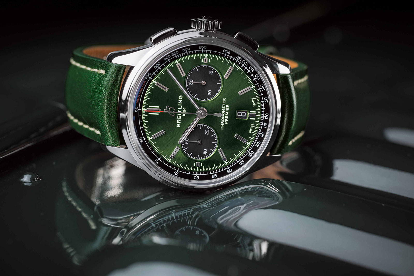 Breitling Premier B01 Bentley British Racing Green 1