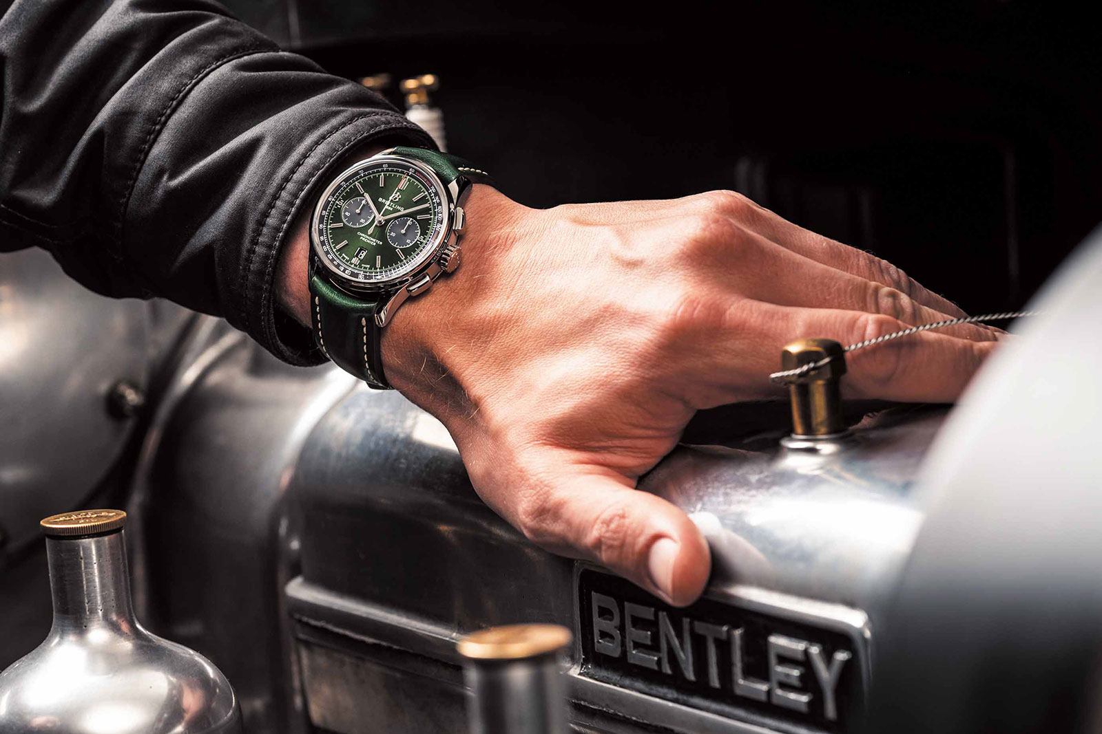 Breitling Premier B01 Bentley British Racing Green 2