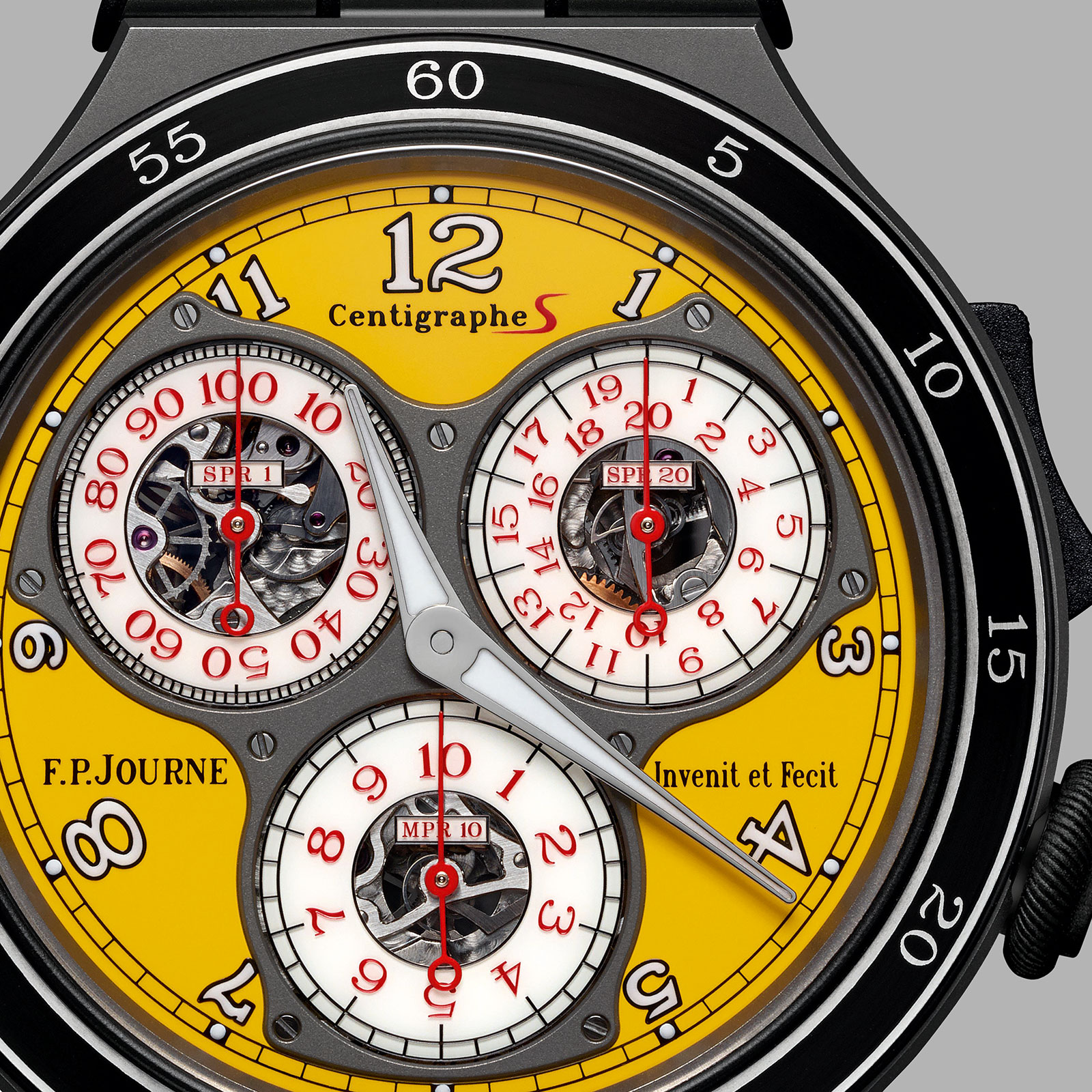 FP Journe Centigraphe Sport yellow CTS2 2