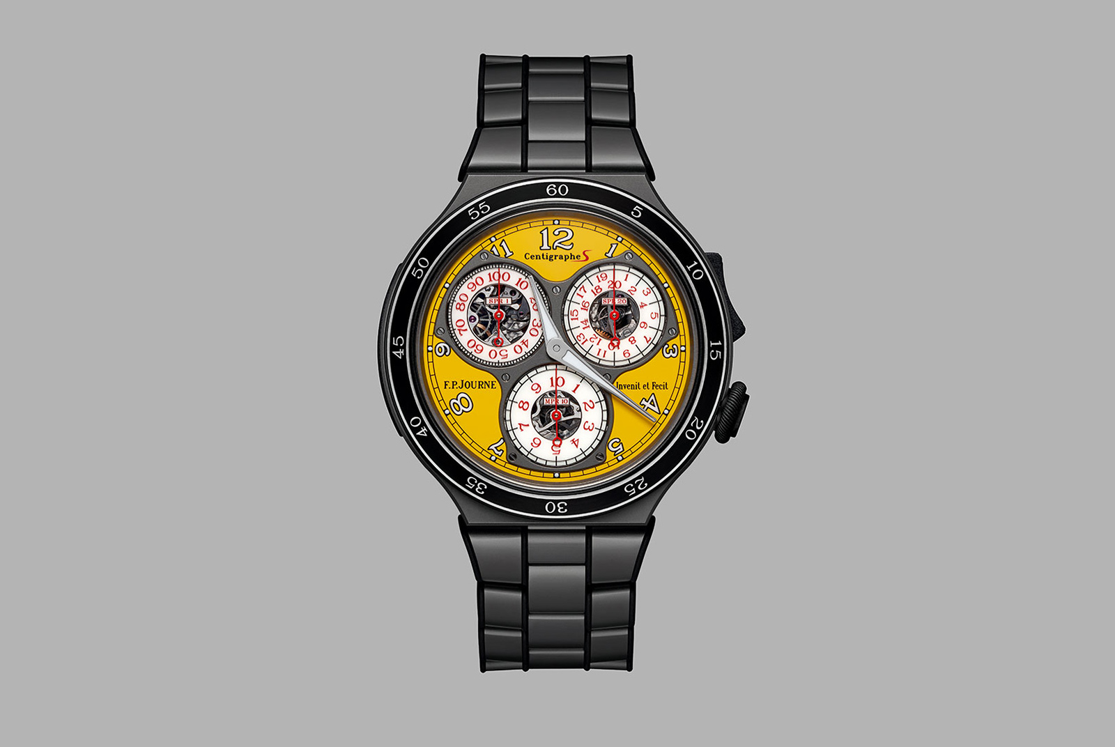 FP Journe Centigraphe Sport yellow CTS2 3