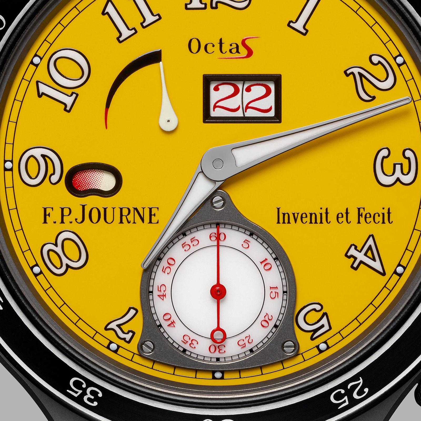 FP Journe Octa Sport yellow ARS2-2
