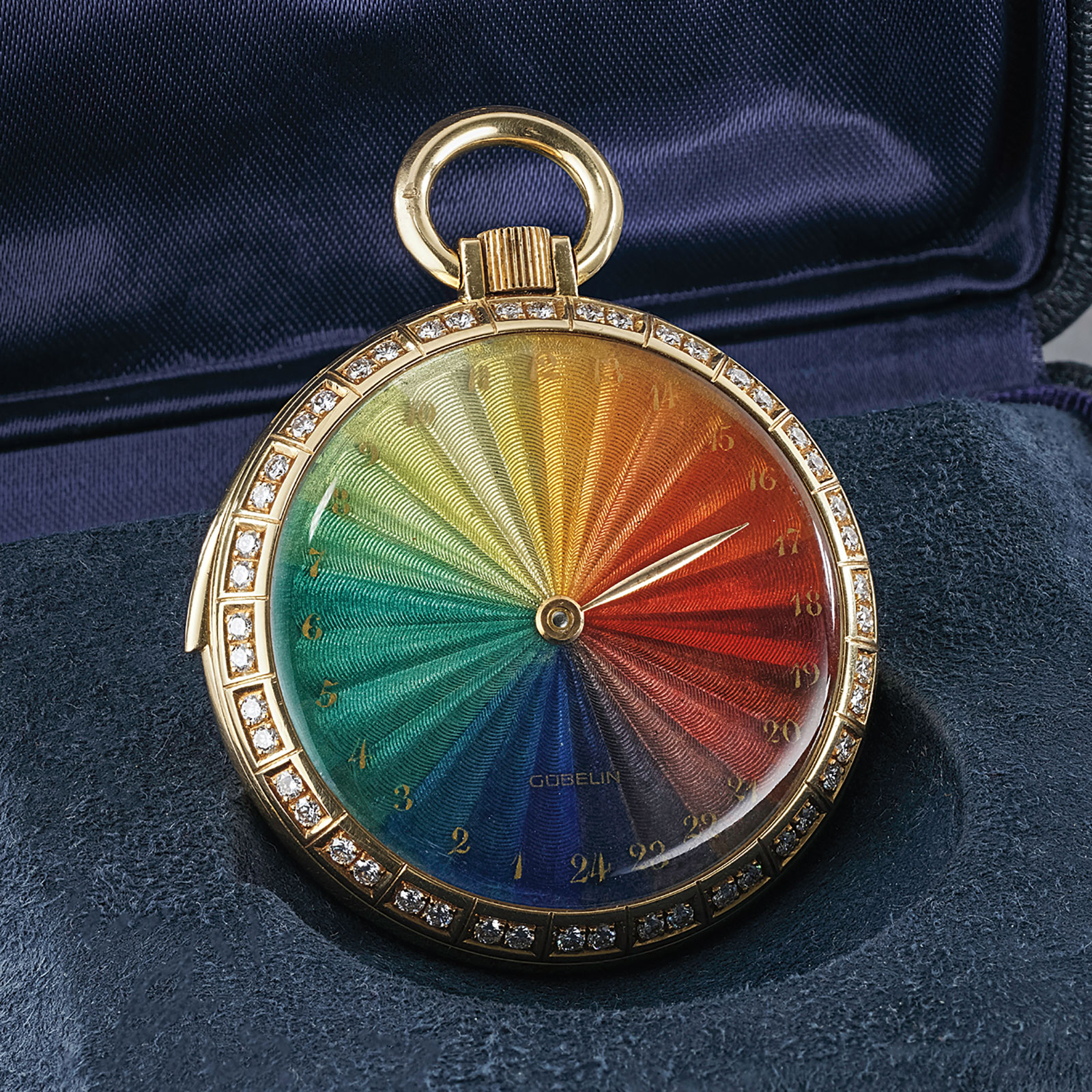 Gubelin rainbow minute repeater pocket watch Richard Daners