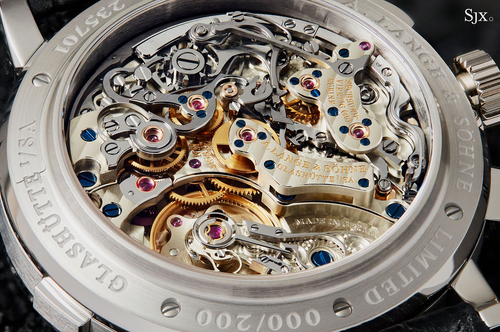 Lange Datograph Lumen watch 14