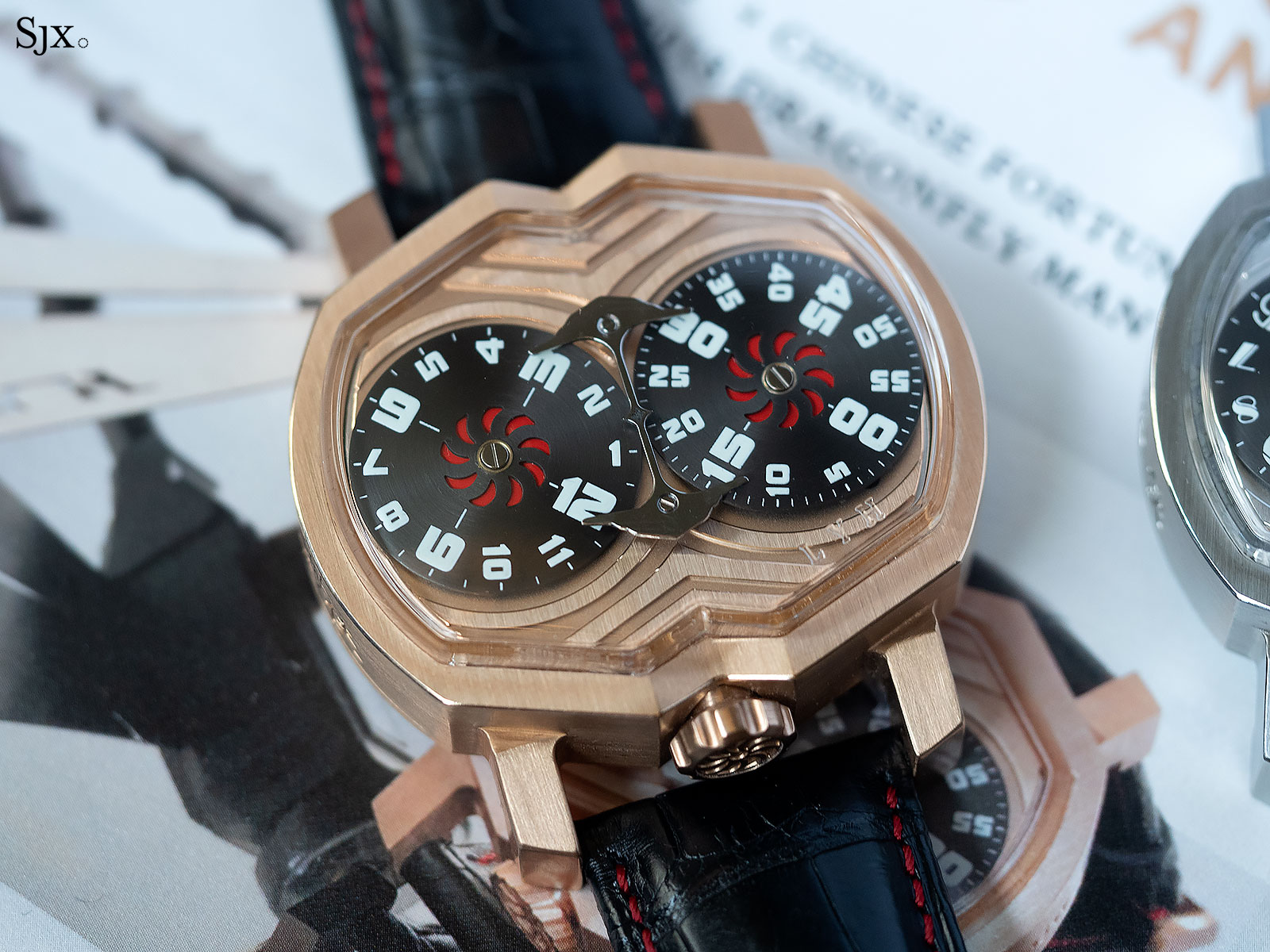 Lin Yong Hua Dragonfly Man watch 2