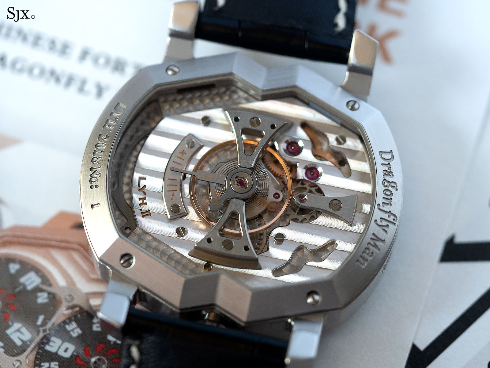 Lin Yong Hua Dragonfly Man watch 5