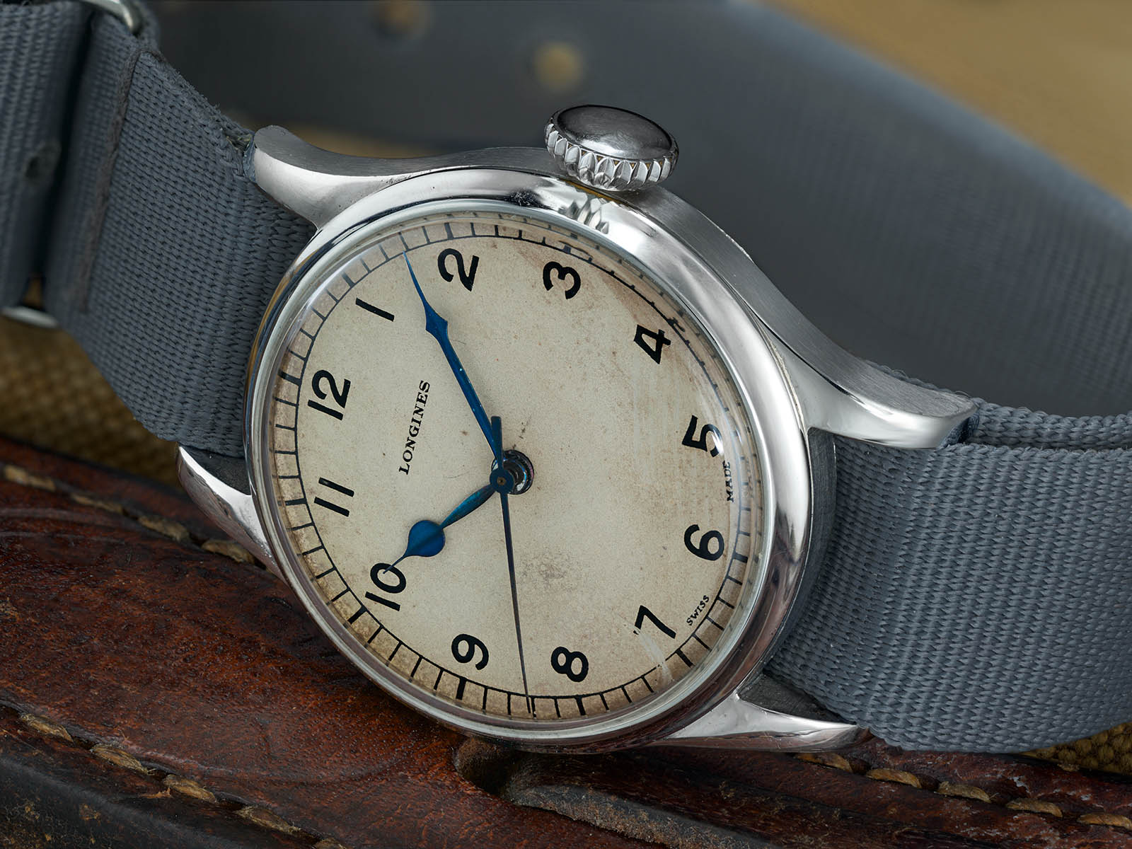 Longines Heritage Military Watch 6B159