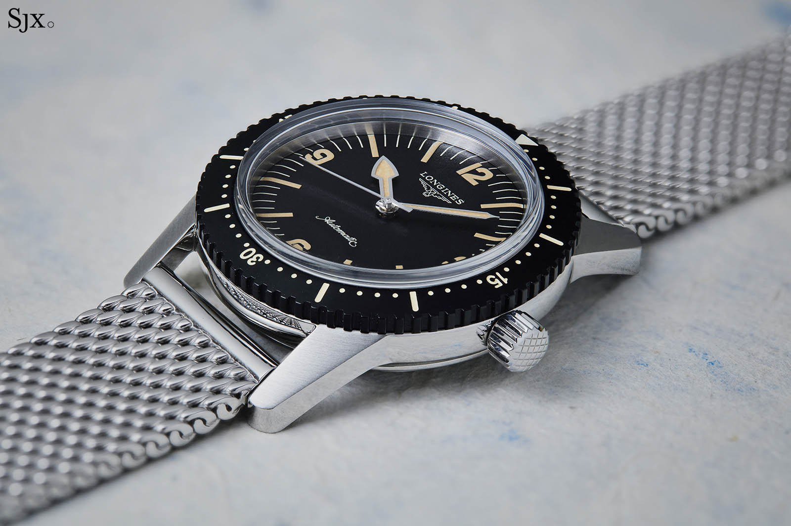 Hands On With The Longines Heritage Skin Diver Sjx Watches