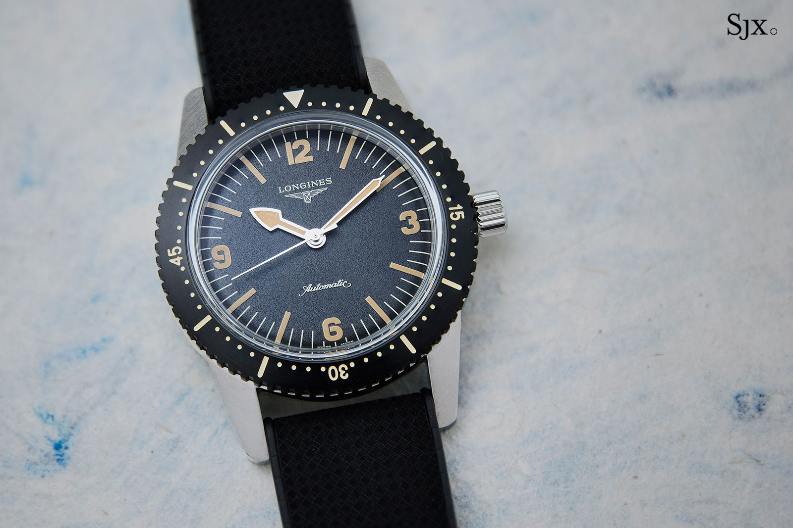 Longines Skin Diver watch 1
