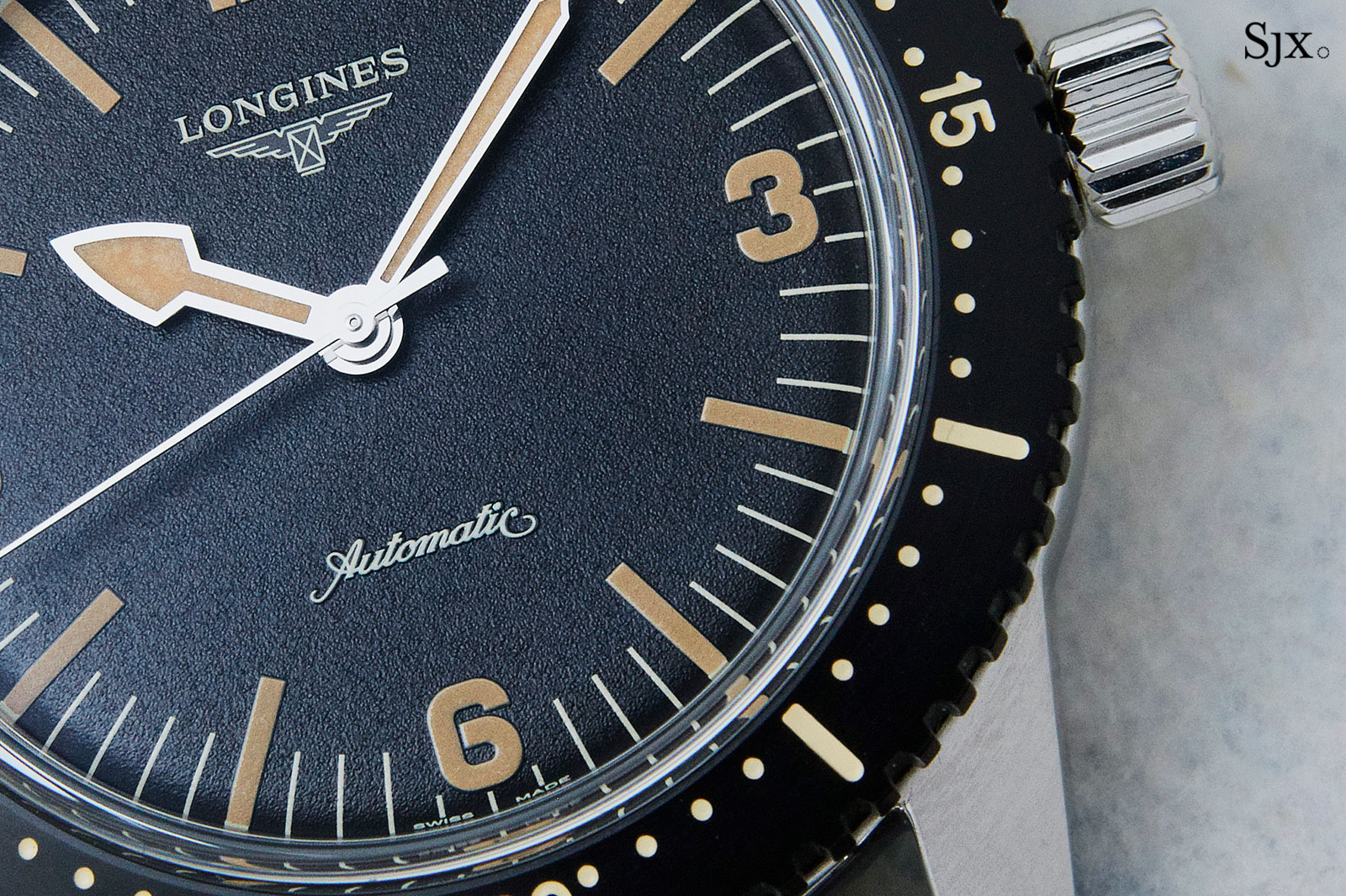 Longines Skin Diver watch 3