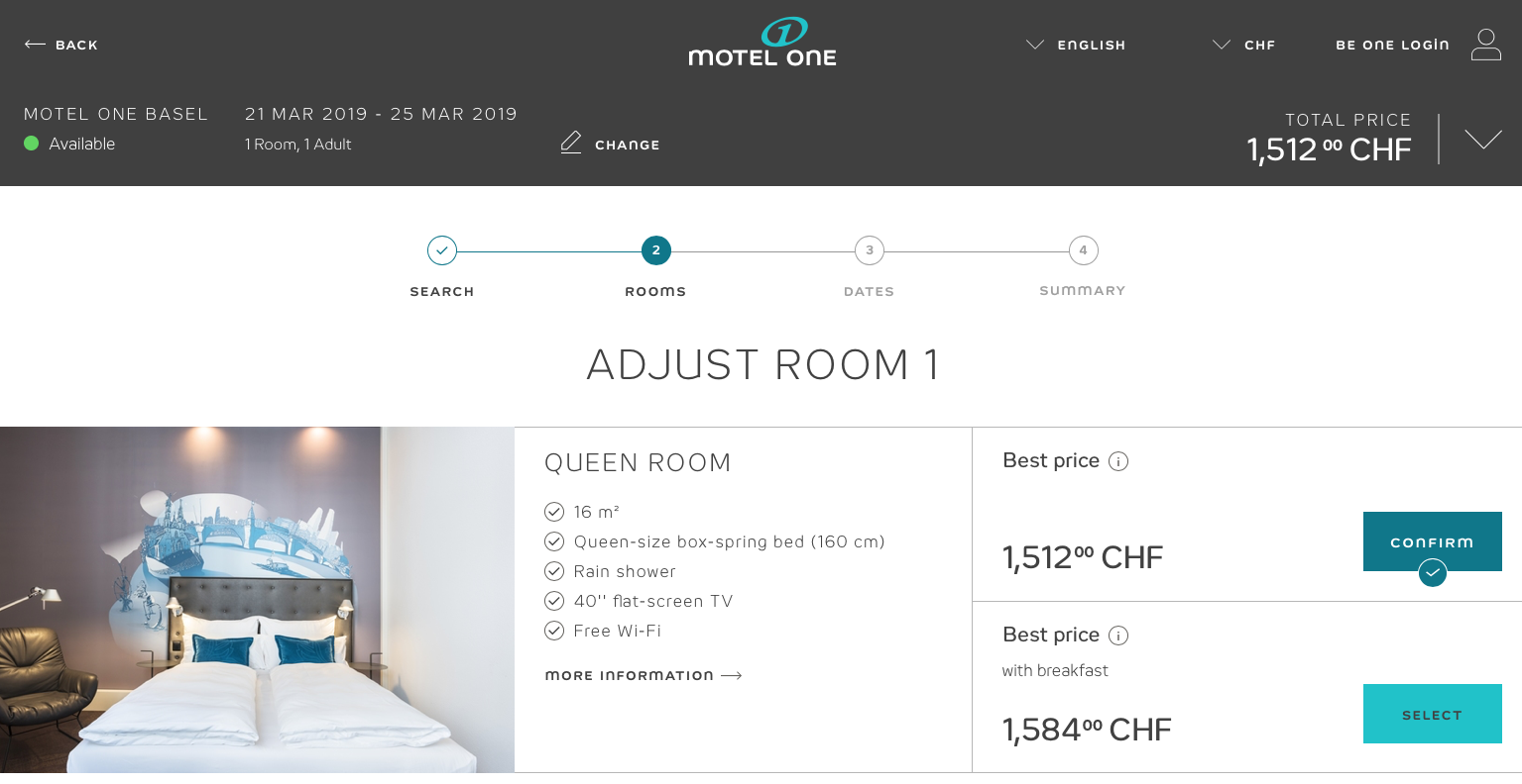 Motel One Baselworld 2019 cost