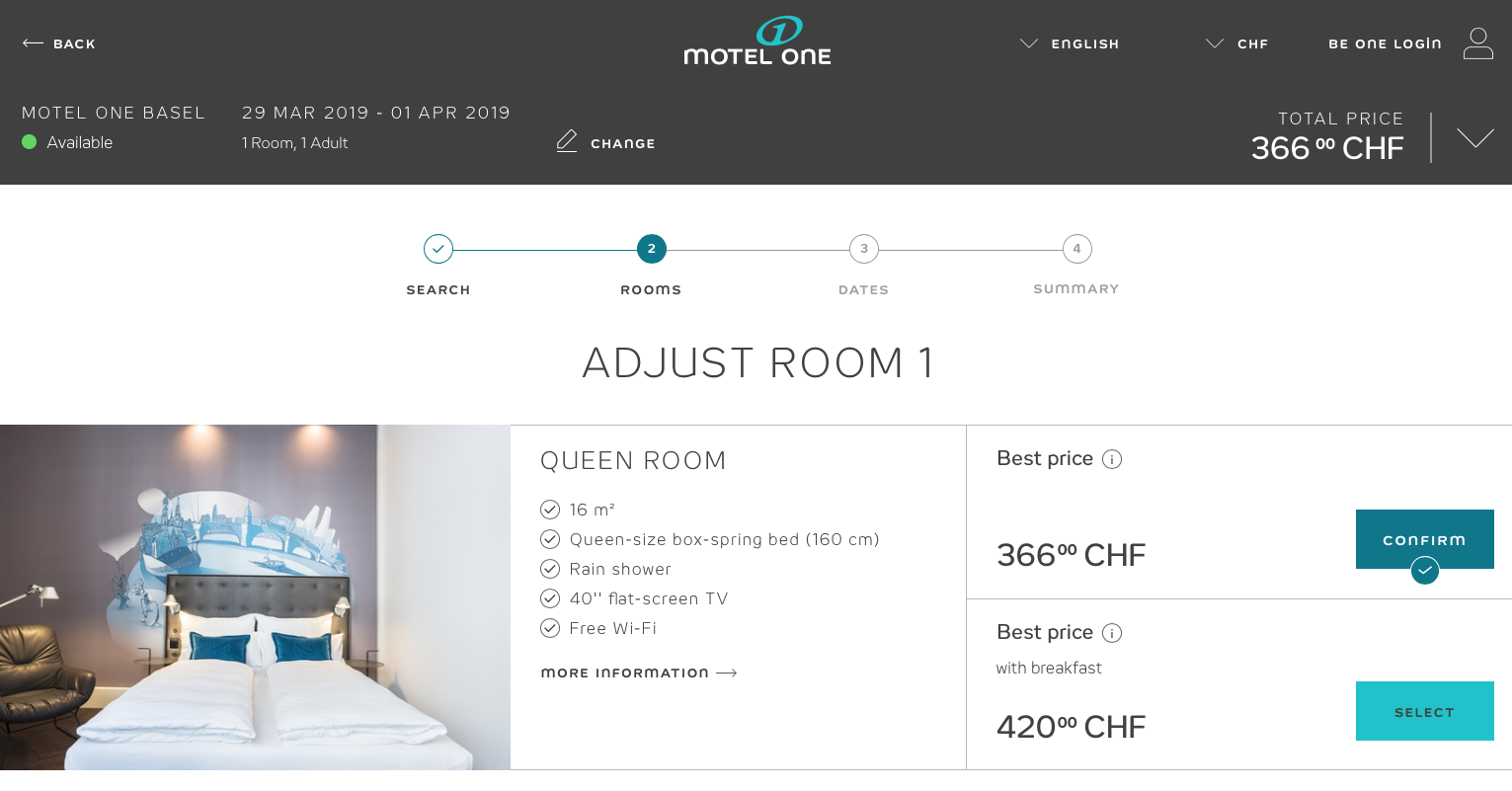 Motel One Baselworld 2019