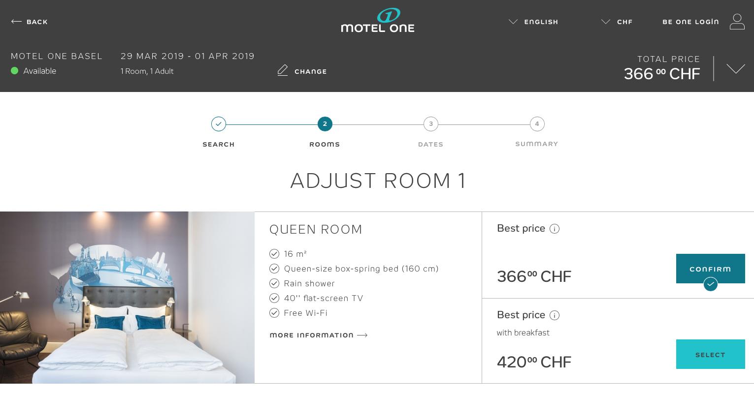 Motel One Baselworld 2019