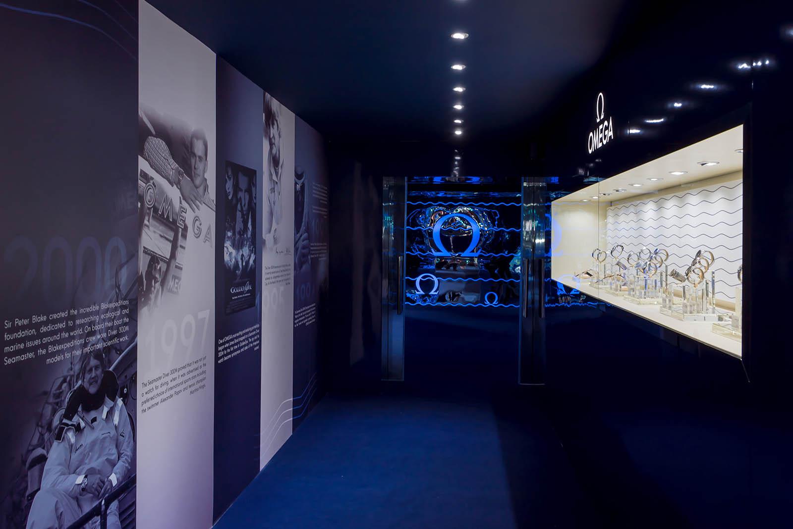 Omega Seamaster Exhibition Singapore 5