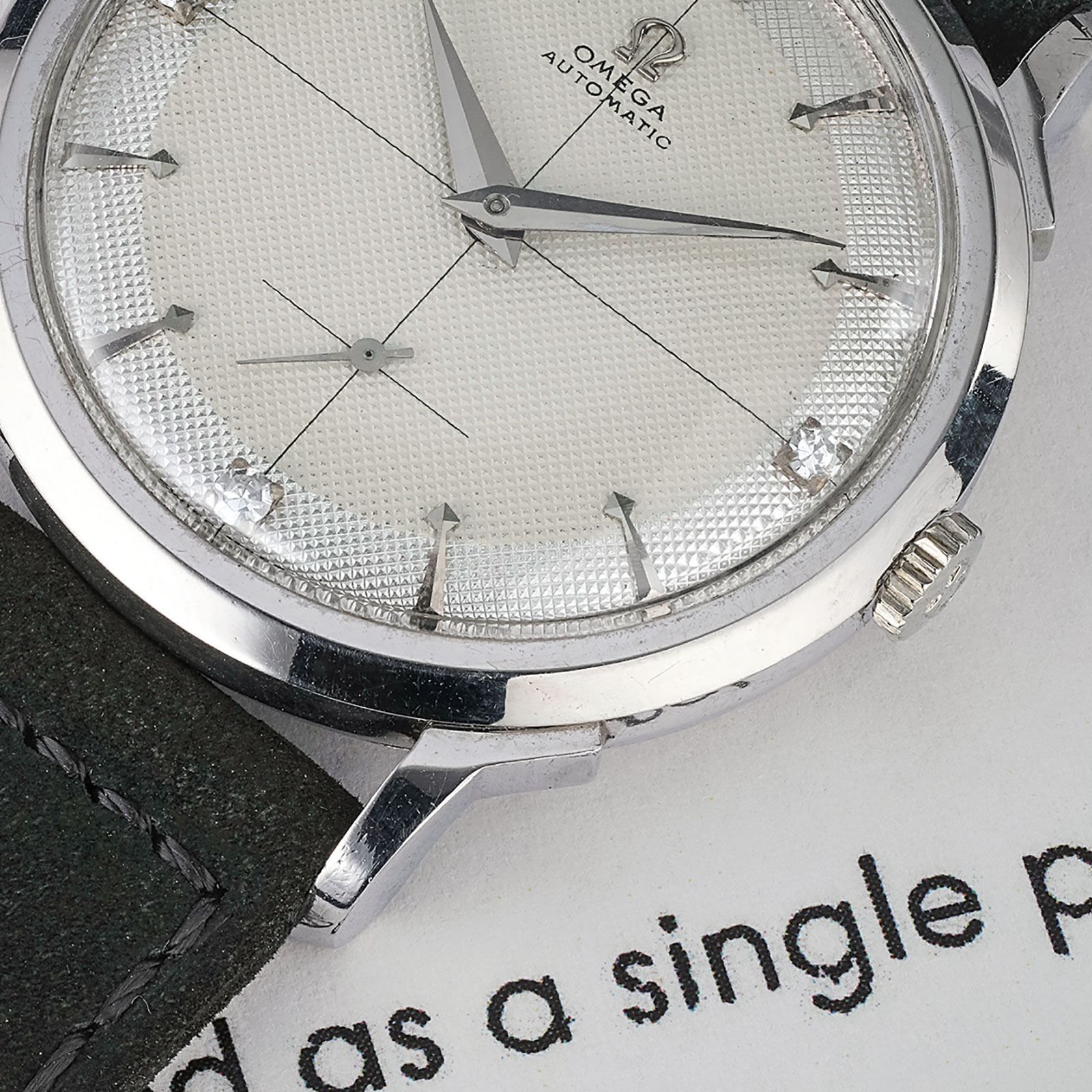 Omega platinum automatic PA14321 phillips 2
