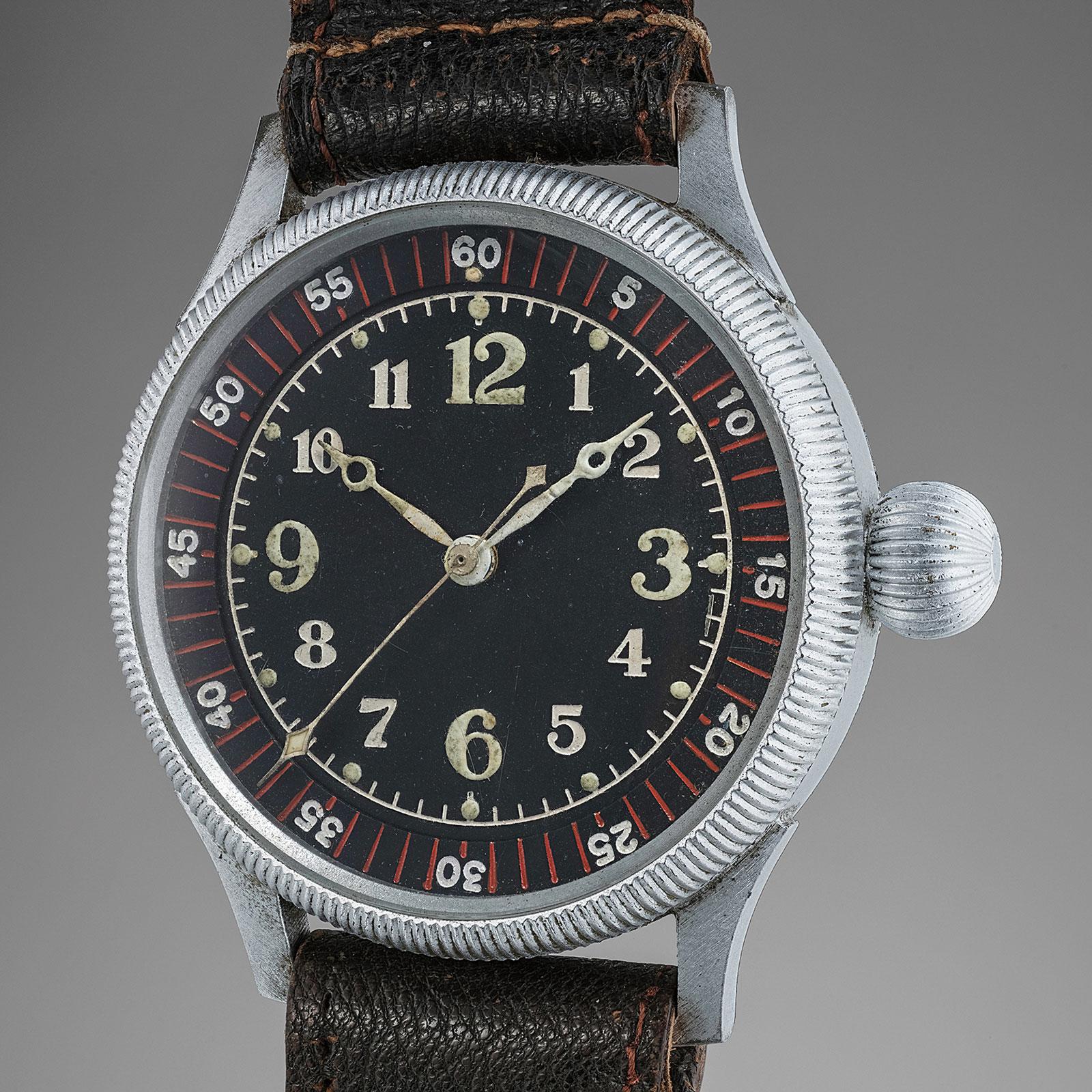 Seikosha tensoku tokei WWII pilots watch 1